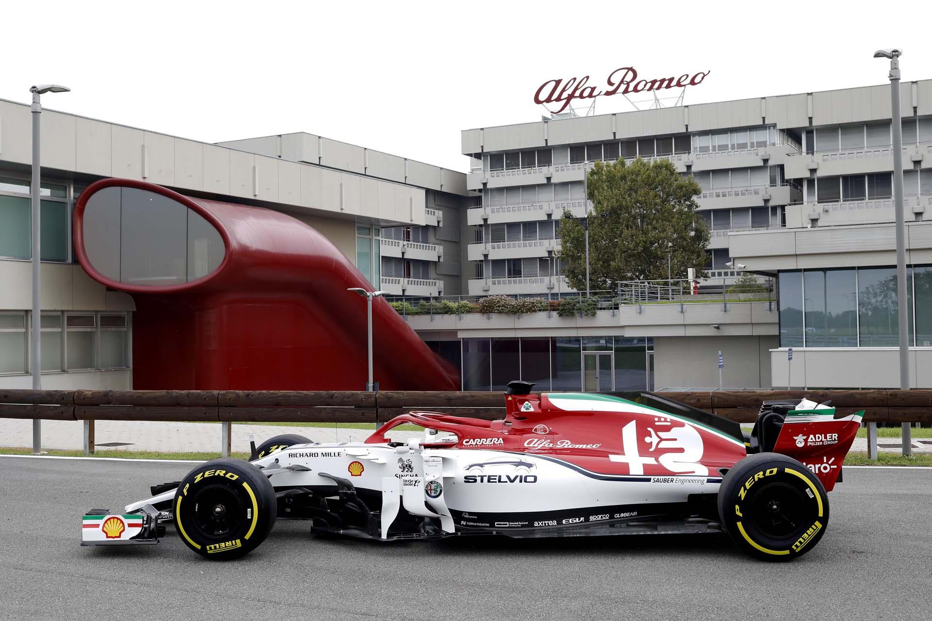 Evento Alfa Romeo Racing Arese
