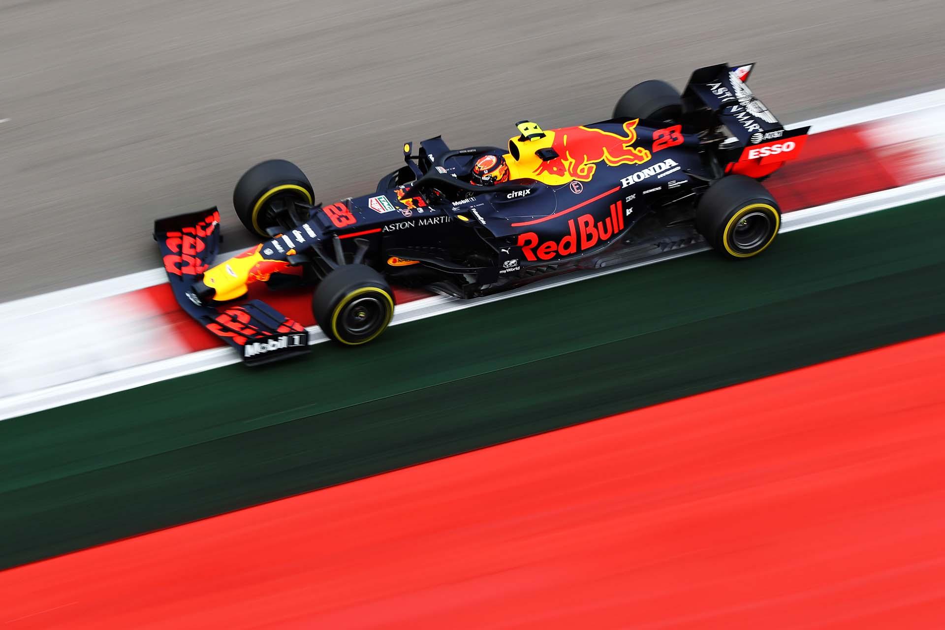 F1 Grand Prix of Russia - Final Practice