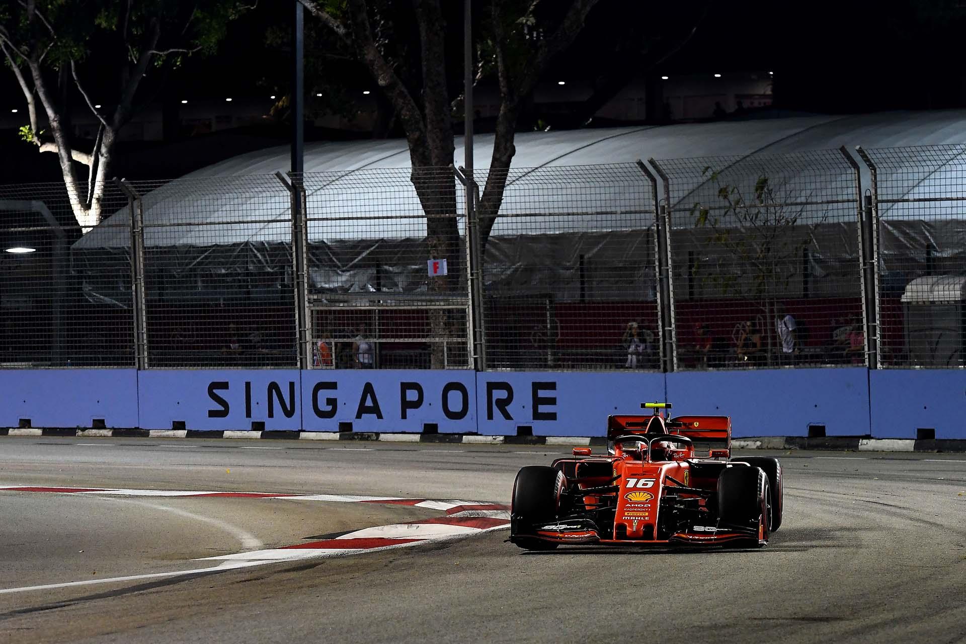 GP SINGAPORE F1/2019 -  VENERDI 20/09/2019