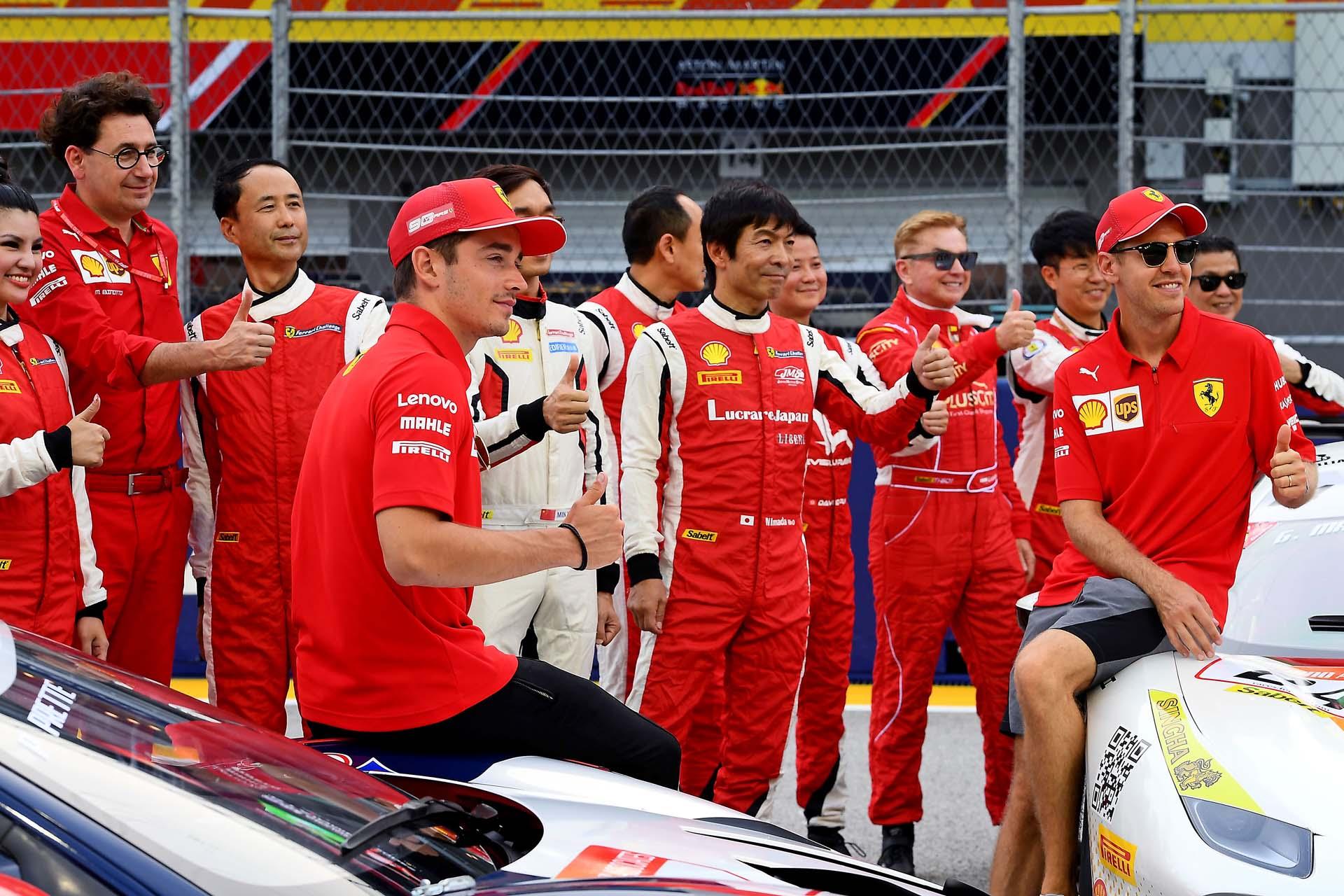 GP SINGAPORE F1/2019 -  GIOVEDÌ 19/09/2019