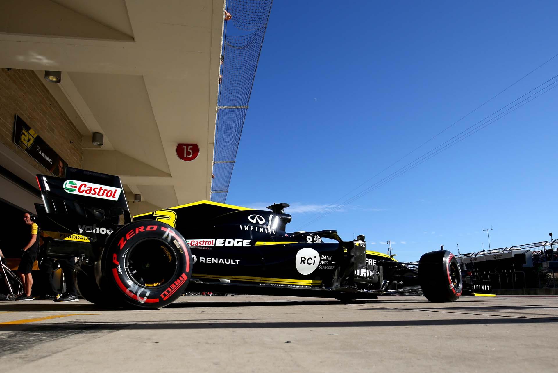Motor Racing - Formula One World Championship - United States Grand Prix - Qualifying Day - Austin, USA