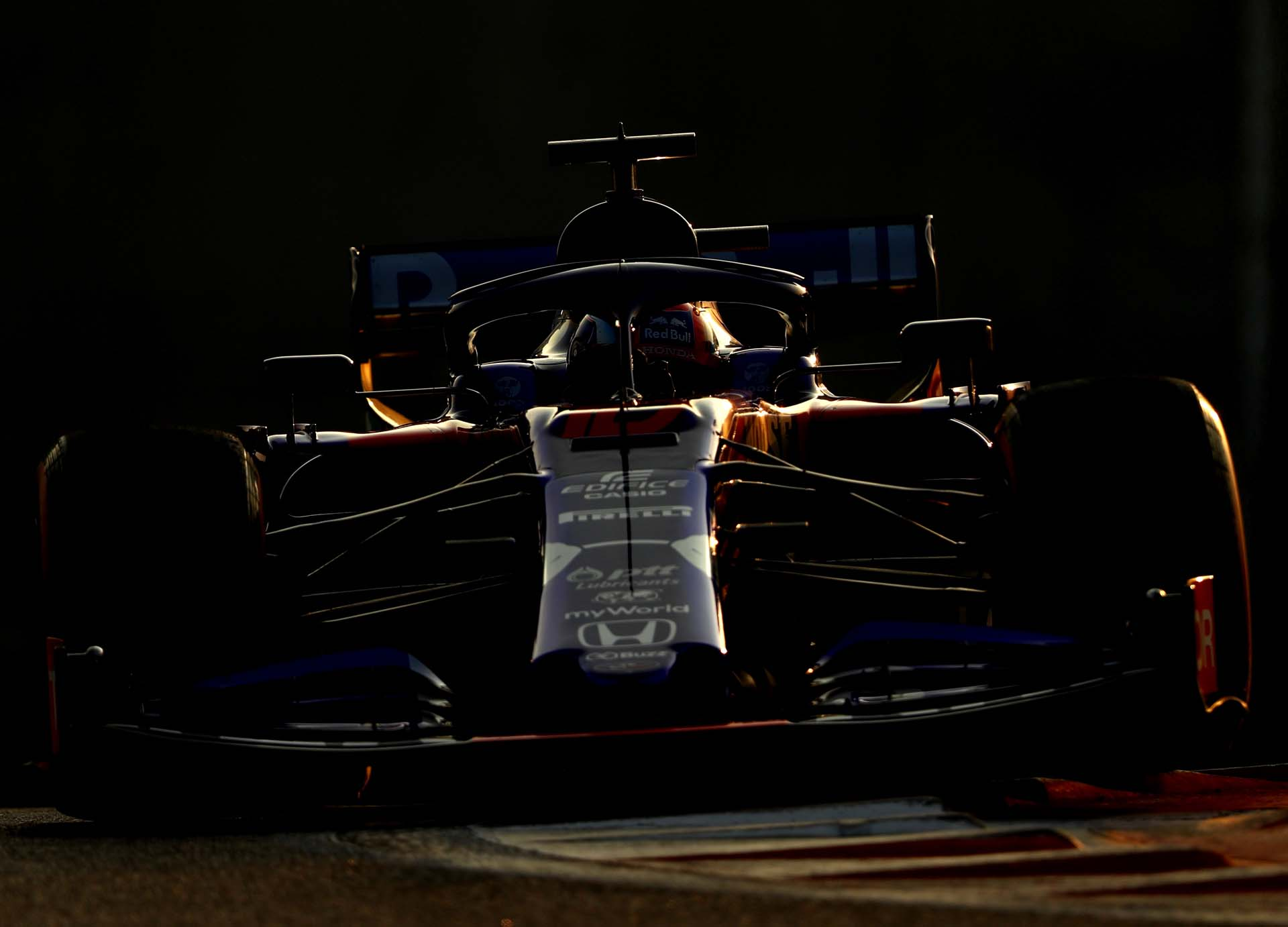 F1 End of Season Testing in Abu Dhabi - Day Two