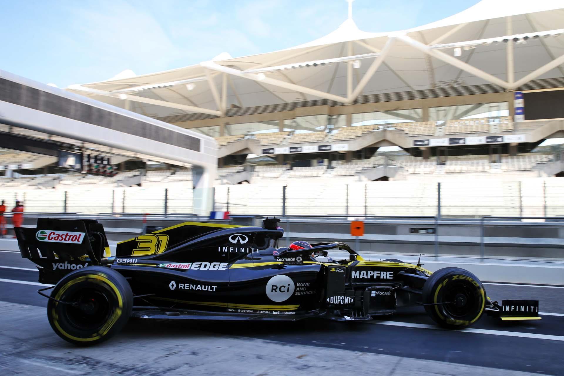 Motor Racing - Formula One Testing - Abu Dhabi, UAE