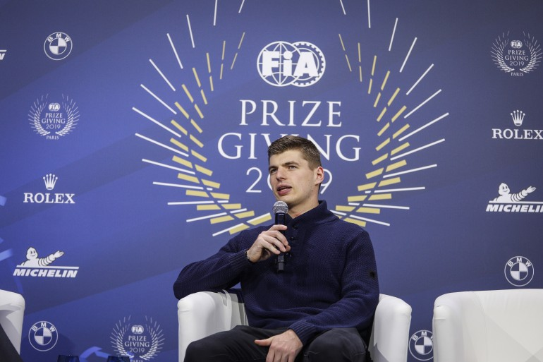 Max Verstappen, Red Bull, Paris, FIA Prize Giving Gala 2019