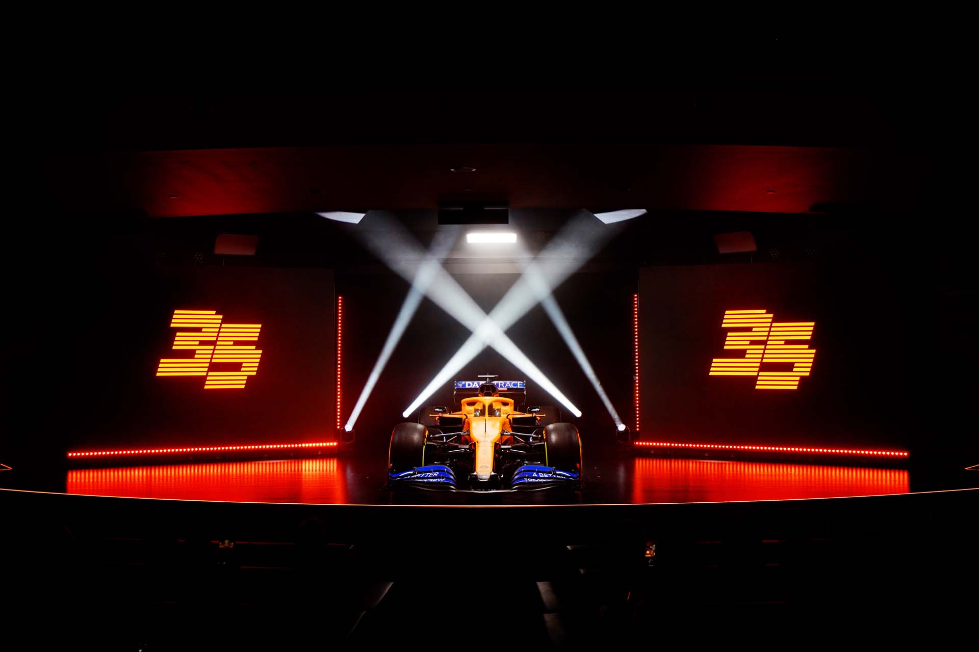 MCL35 launch. 13 February 2020