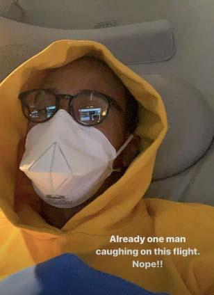 Lewis Hamilton maszk