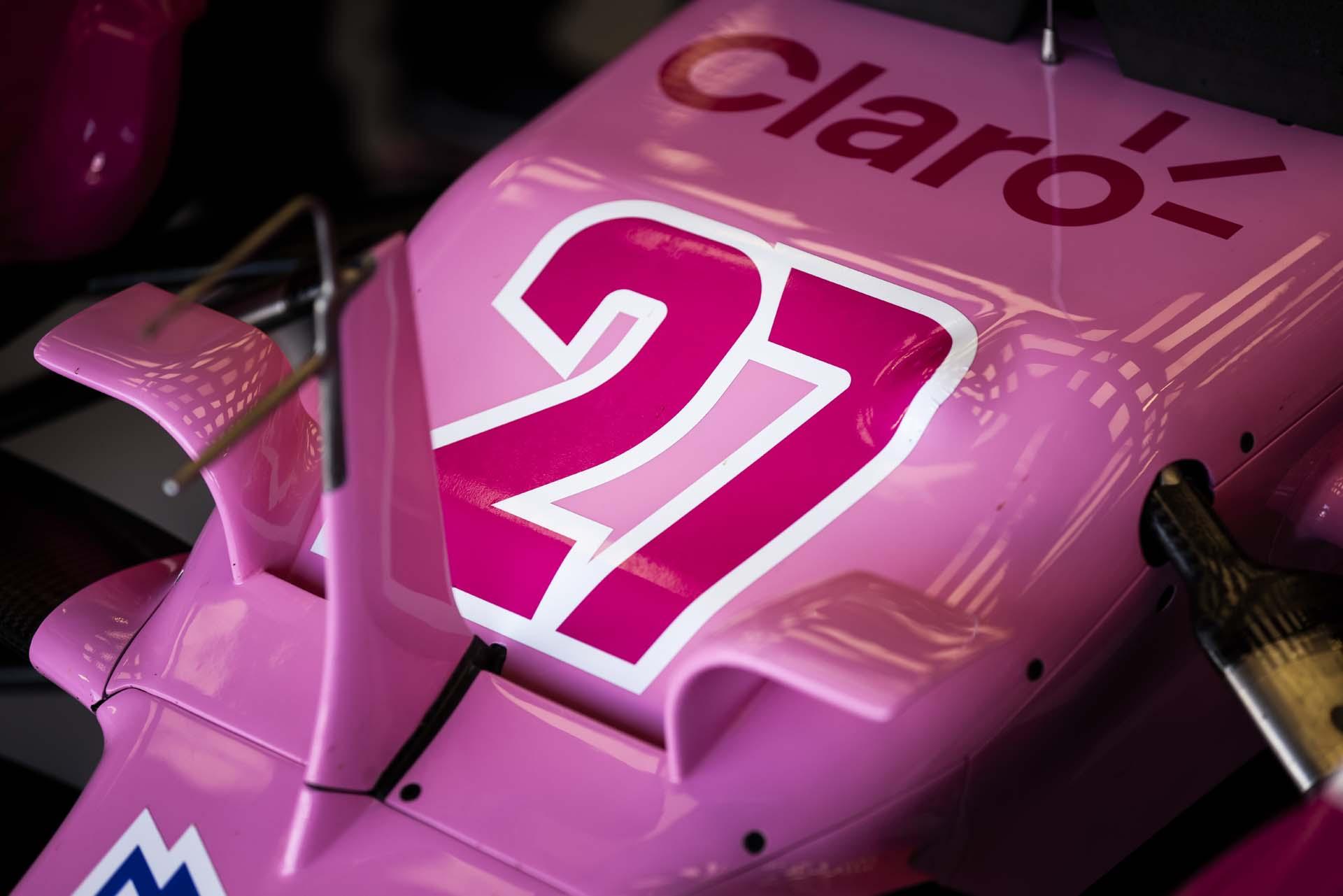 Number 27 of Nico Hulkenberg, Racing Point RP20