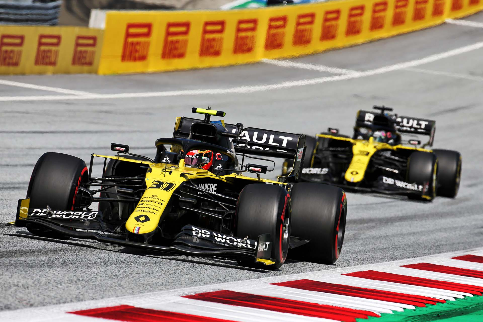 Motor Racing - Formula One World Championship - Steiermark Grand Prix - Race Day - Spielberg, Austria