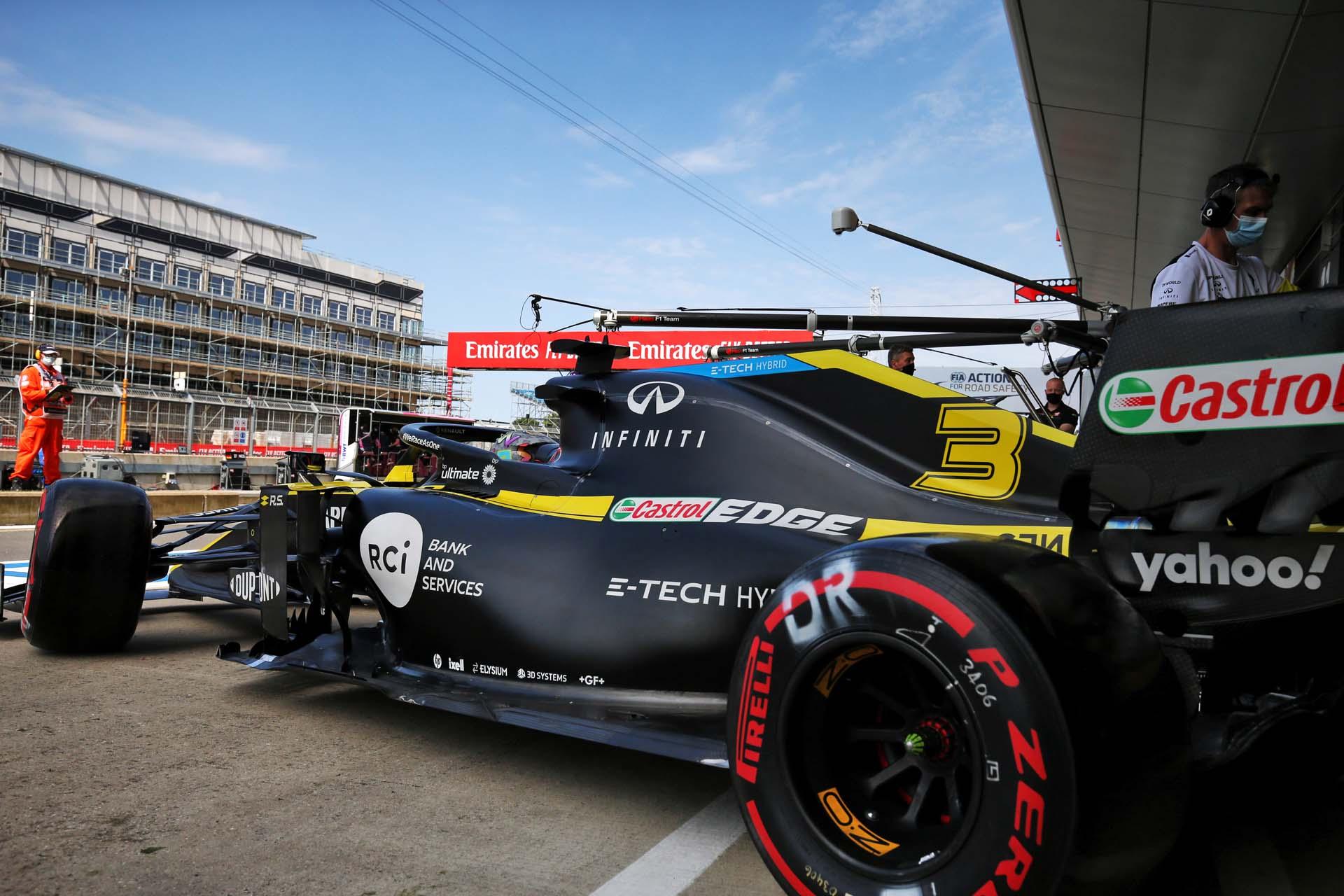 Motor Racing - Formula One World Championship - 70th Anniversary Grand Prix - Qualifying Day - Silverstone, England