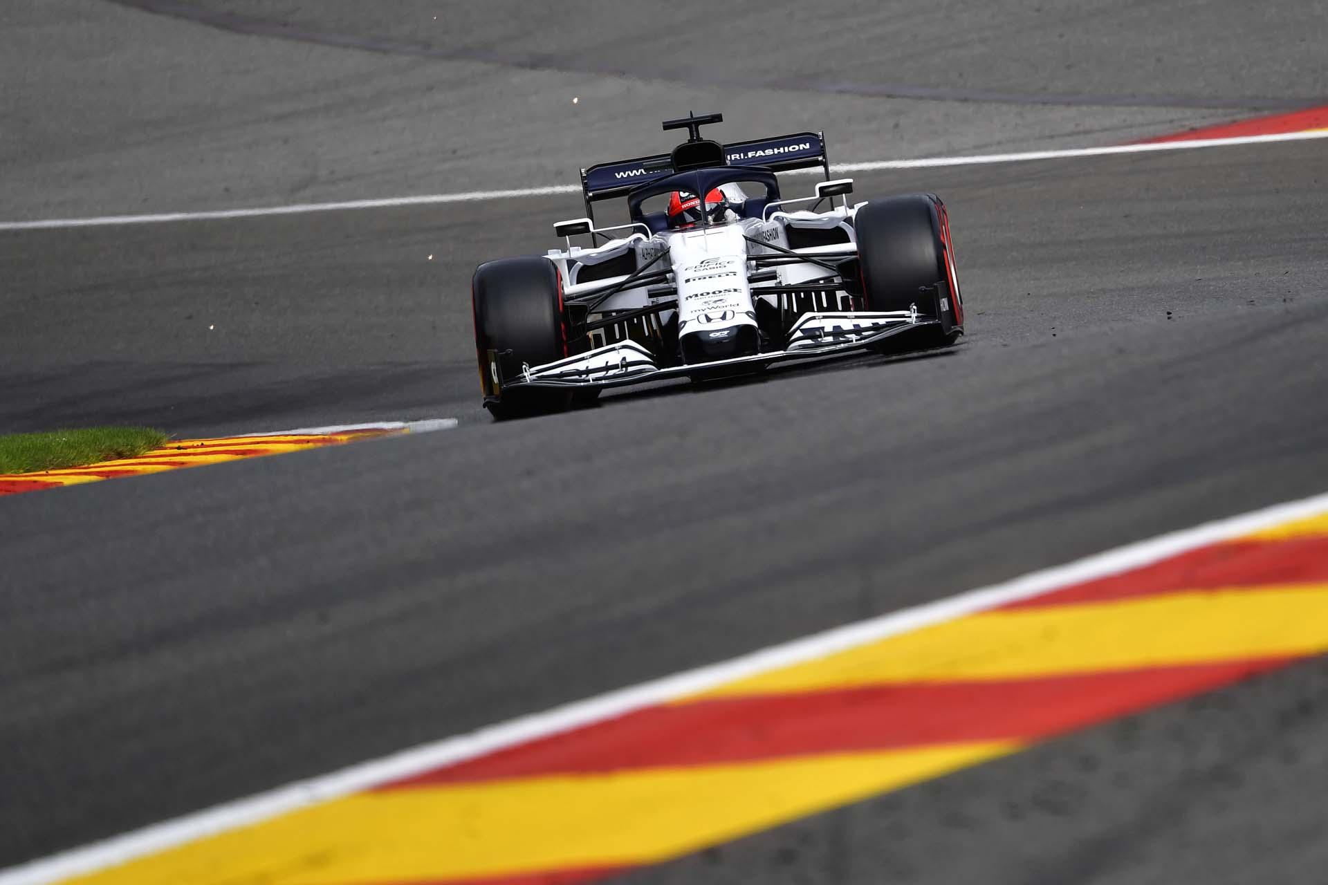 F1 Grand Prix of Belgium - Practice