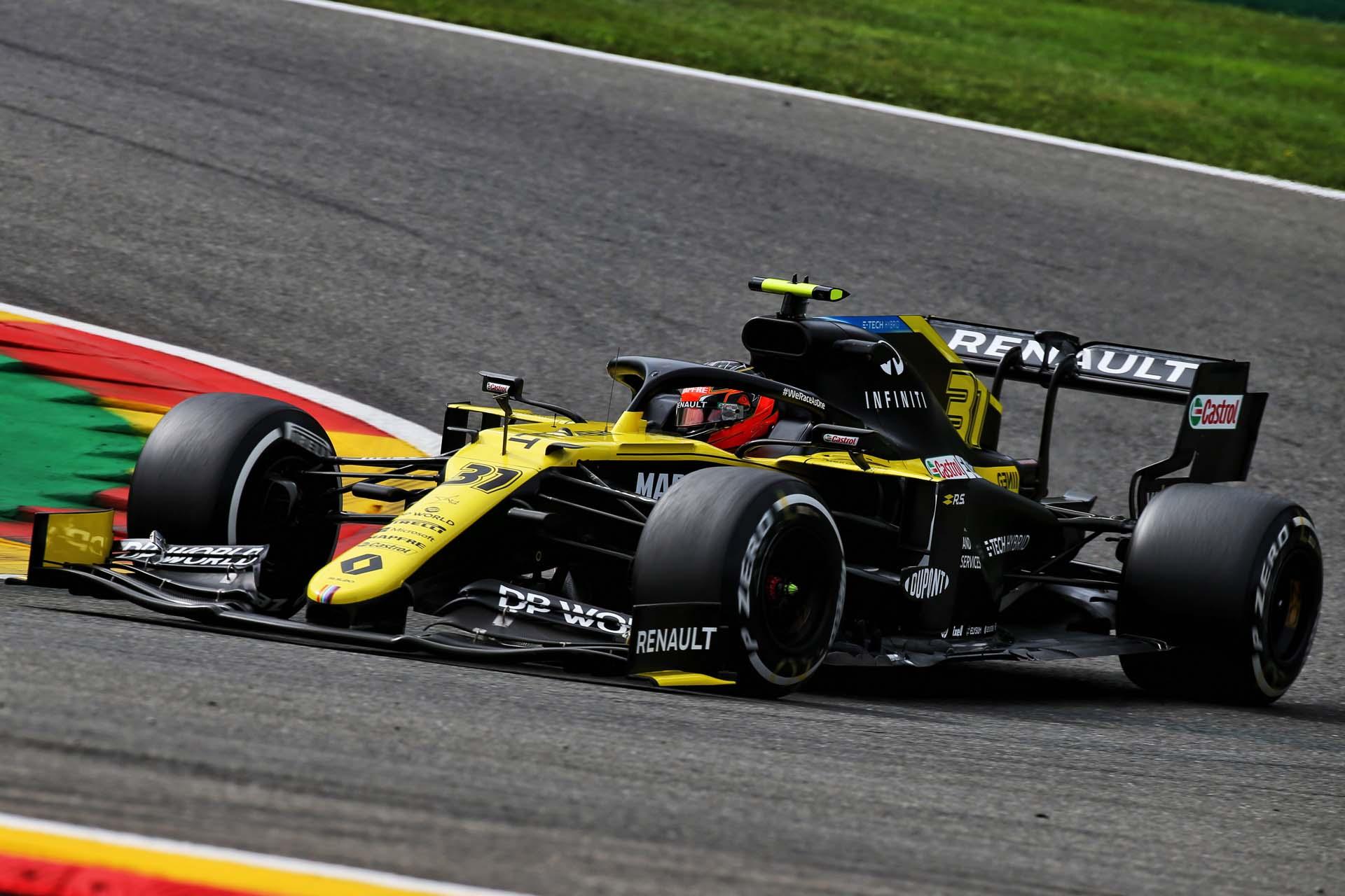 Motor Racing - Formula One World Championship - Belgian Grand Prix - Practice Day - Spa Francorchamps, Belgium