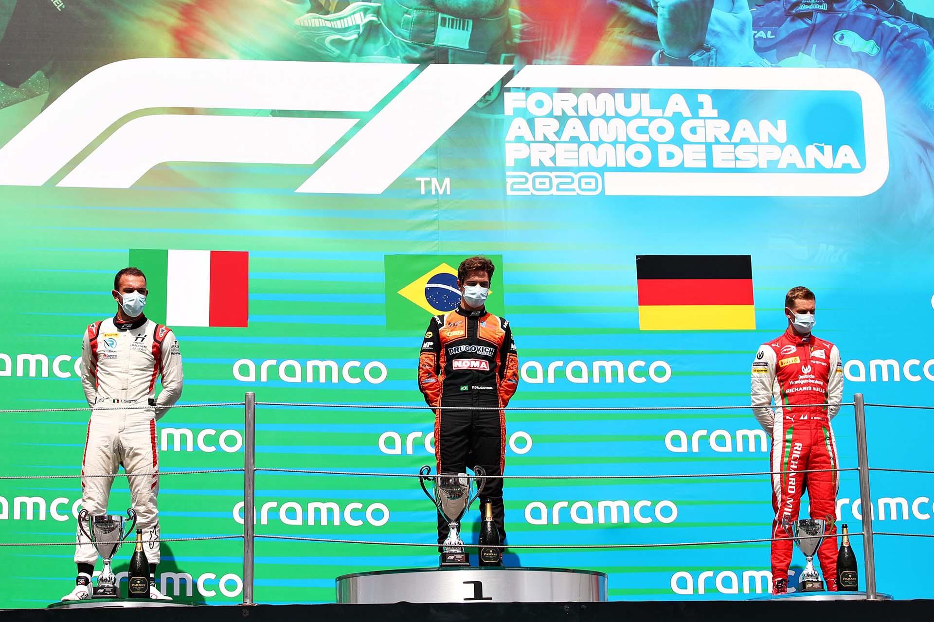 Formula 2 Championship - Round 6:Barcelona - Sprint Race