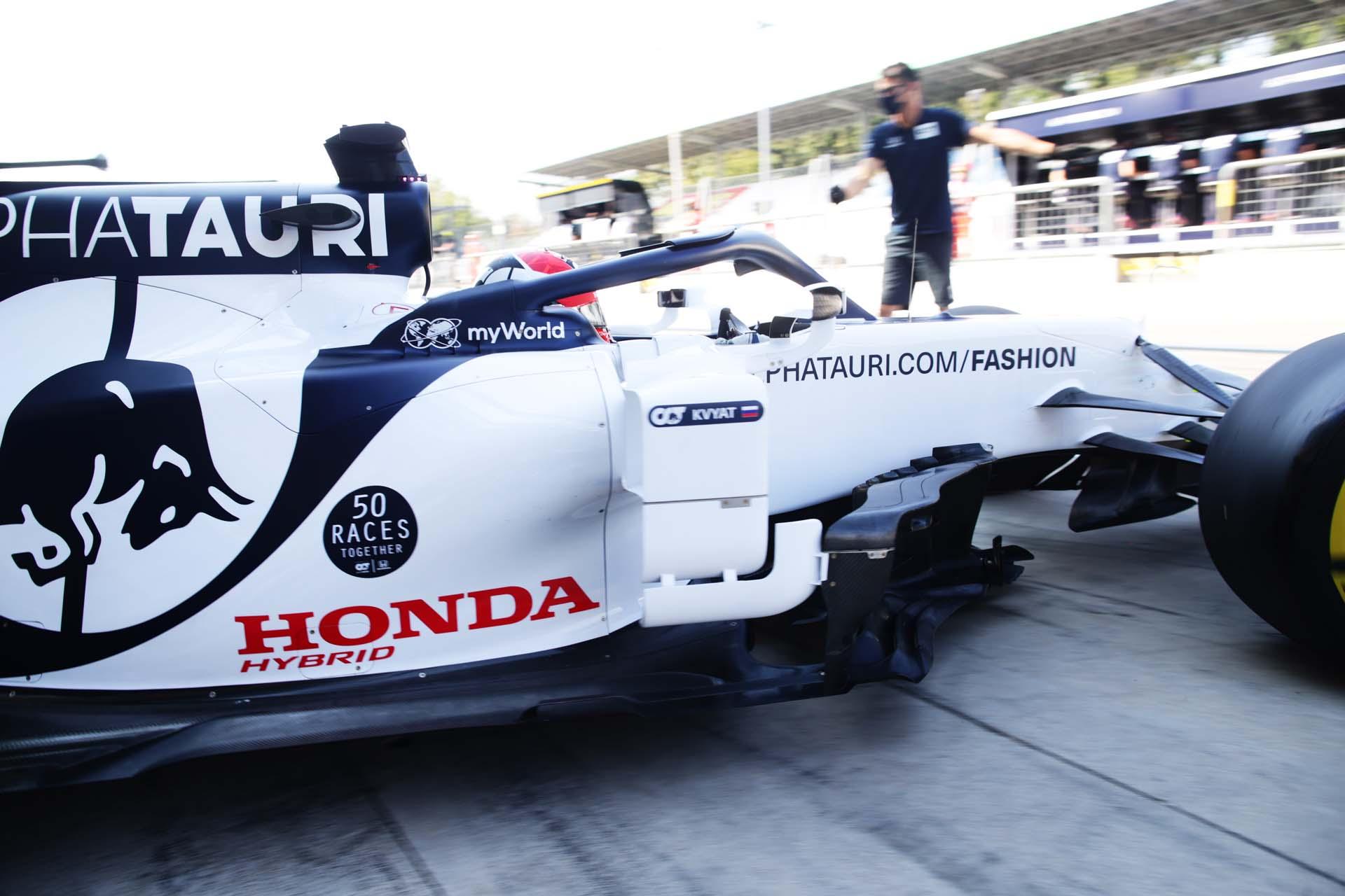 F1 Grand Prix of Italy - Practice
