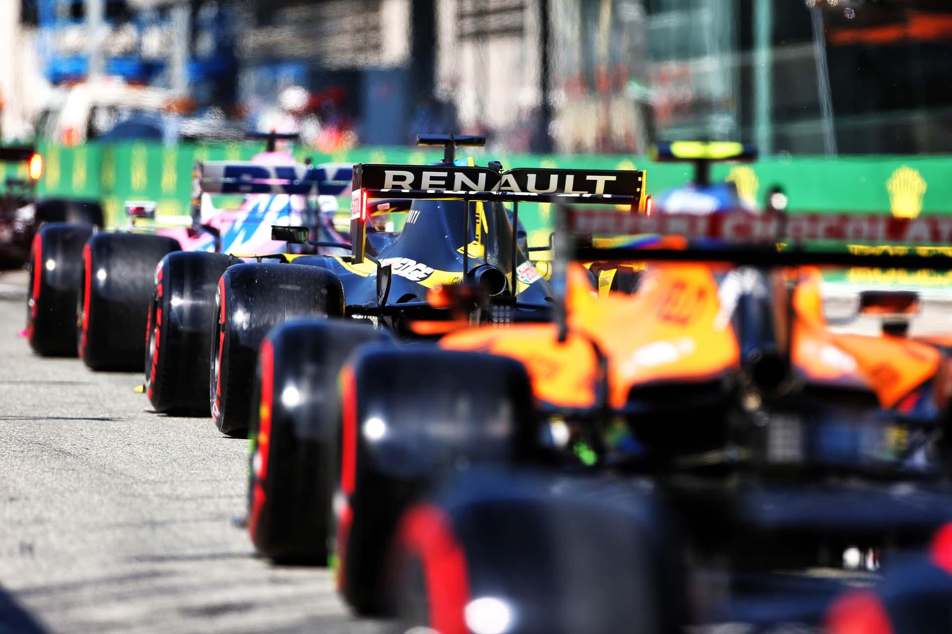 Motor Racing - Formula One World Championship - Italian Grand Prix - Qualifying Day - Monza, Italy