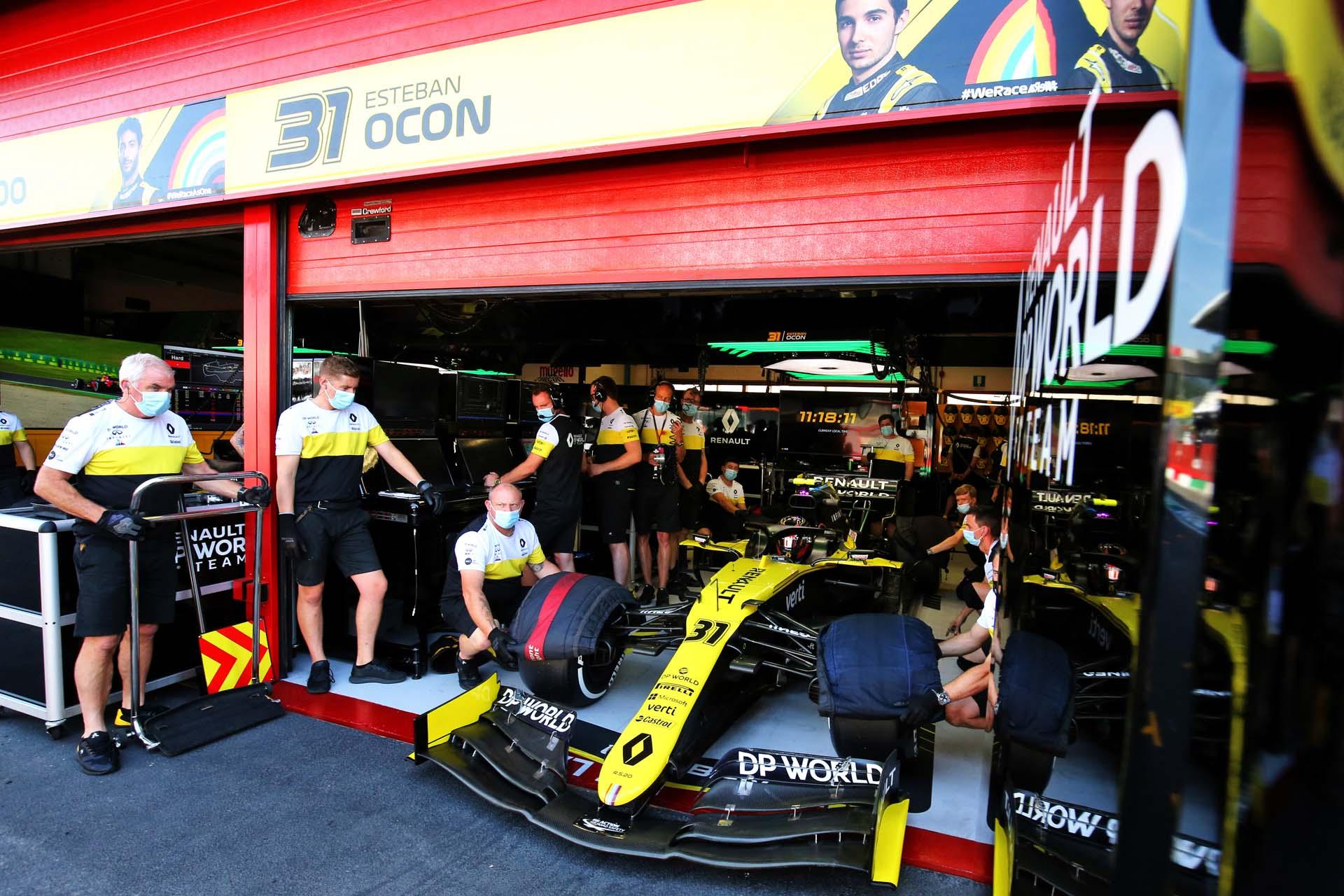 Motor Racing - Formula One World Championship - Tuscan Grand Prix - Practice Day - Mugello, Italy