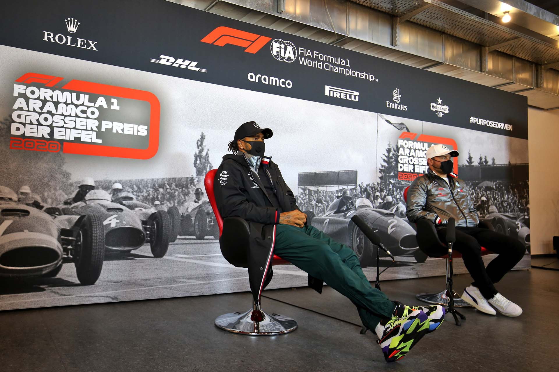 2020 Eifel Grand Prix, Thursday - LAT Images