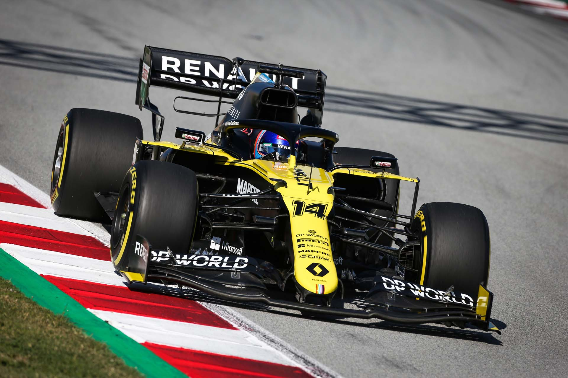 Motor Racing - Renault F1 Team Film Day -  Barcelona, Spain