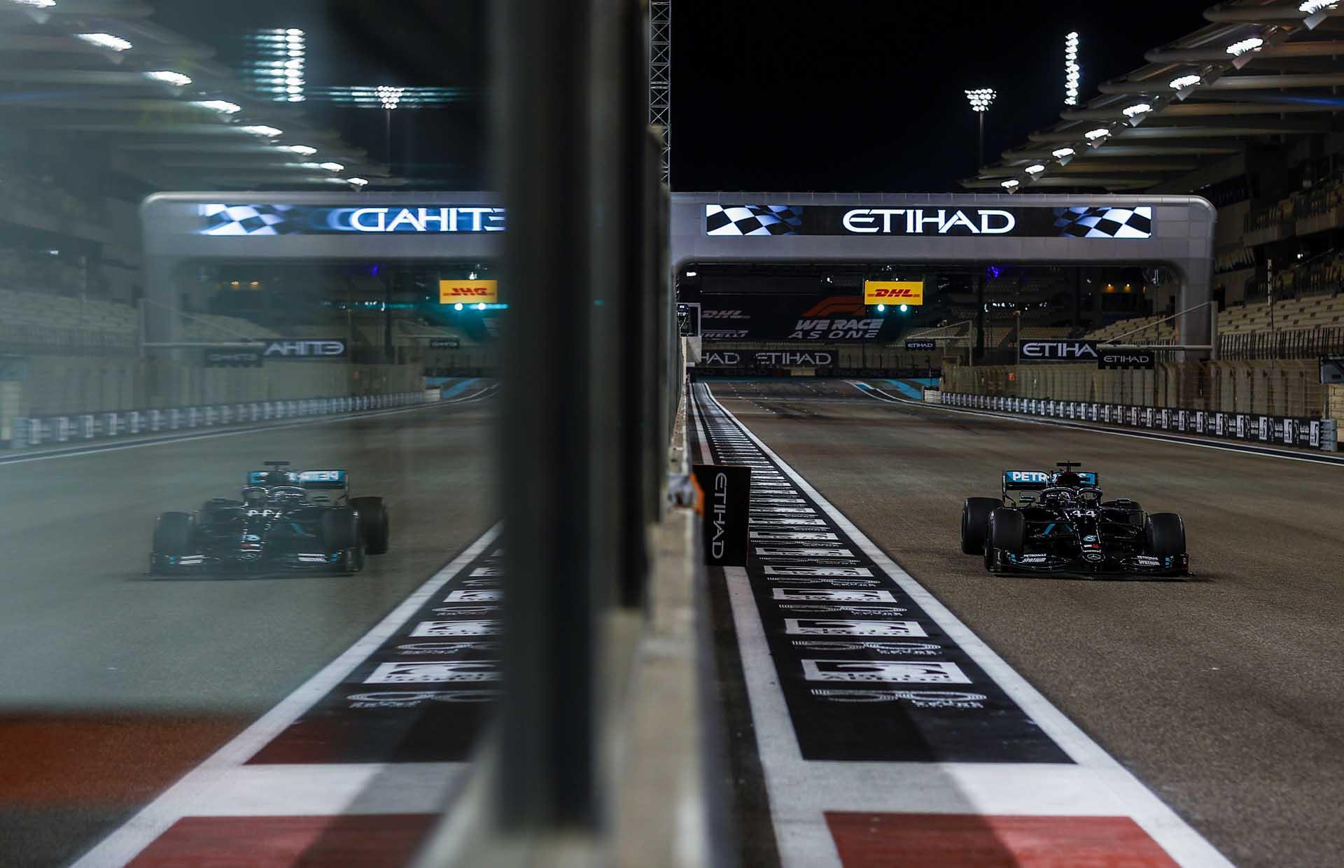 2020 Abu Dhabi Grand Prix, Friday - LAT Images