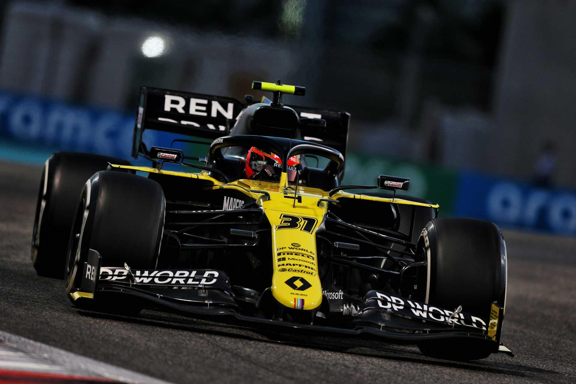 Motor Racing - Formula One World Championship - Abu Dhabi Grand Prix - Practice Day - Abu Dhabi, UAE