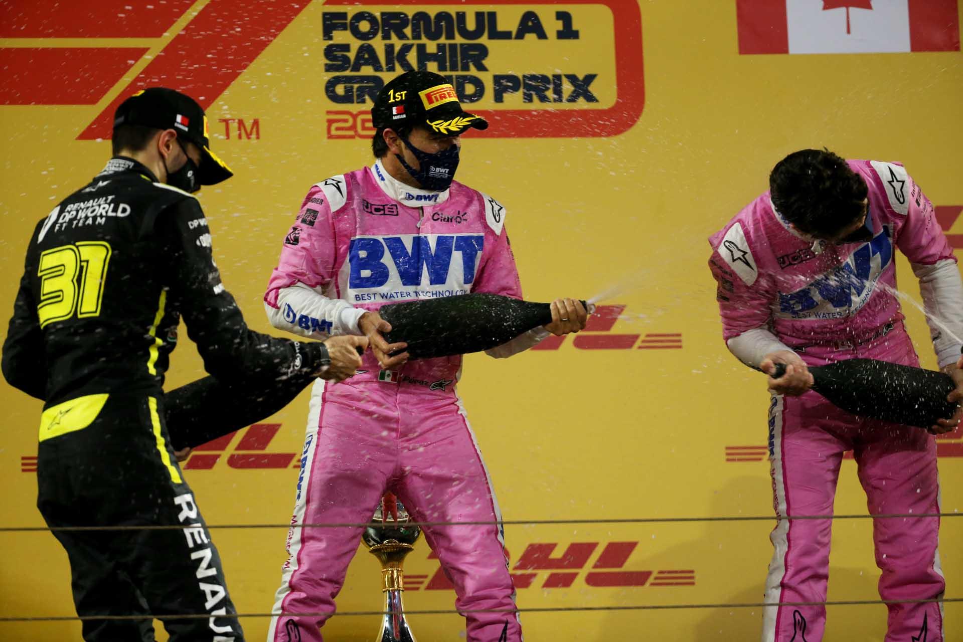 Motor Racing - Formula One World Championship - Sakhir Grand Prix - Race Day - Sakhir, Bahrain