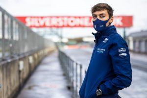 George Russell, Williams Racing, Silverstone, 2021