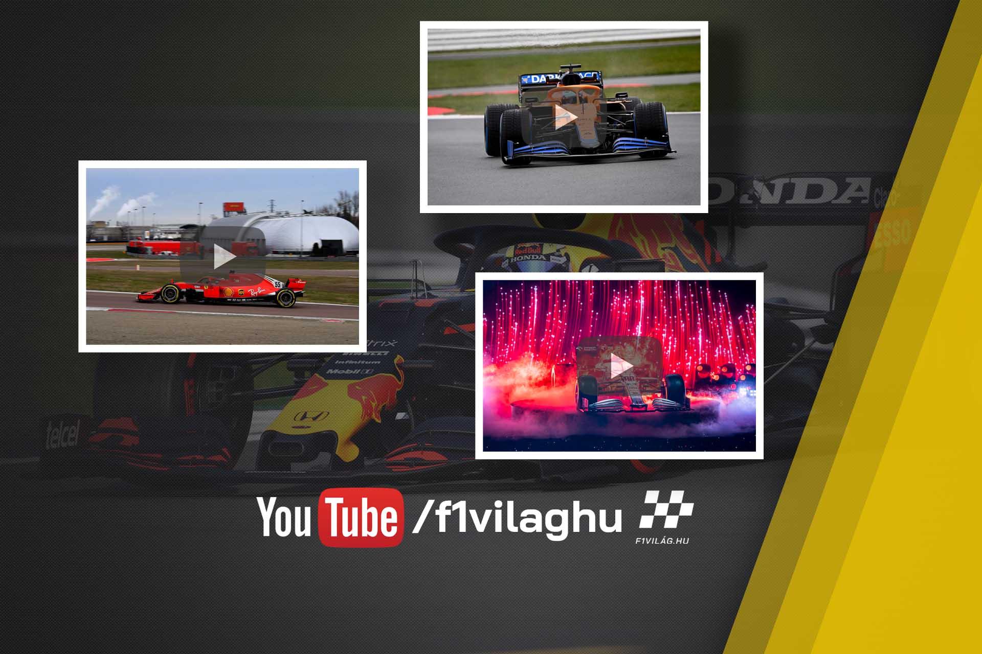 F1Világ YouTube