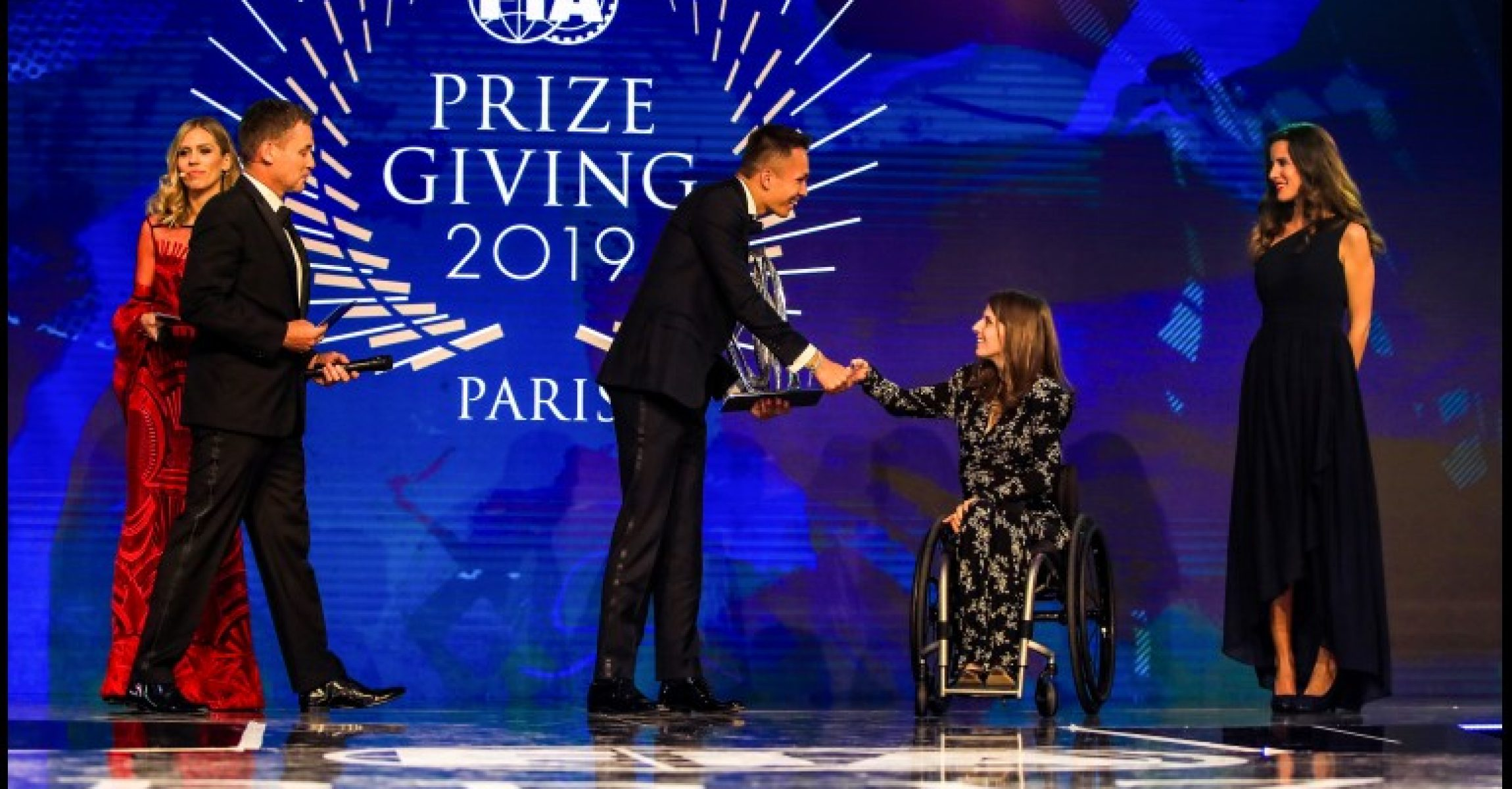 FIA Prize Giving Gala 2019, Paris, Alexander Albon Red Bull Racing