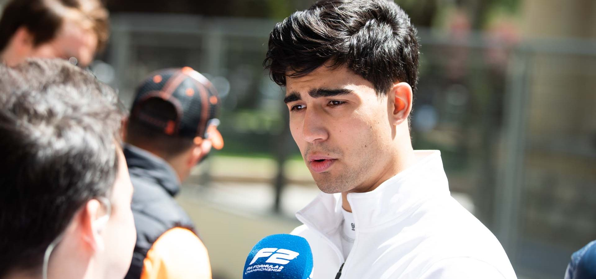 BAKU CITY CIRCUIT, AZERBAIJAN - APRIL 28: Juan Manuel Correa (USA, SAUBER JUNIOR TEAM BY CHAROUZ) during the Baku at Baku City Circuit on April 28, 2019 in Baku City Circuit, Azerbaijan. (Photo by Joe Portlock / LAT Images / FIA F2 Championship)