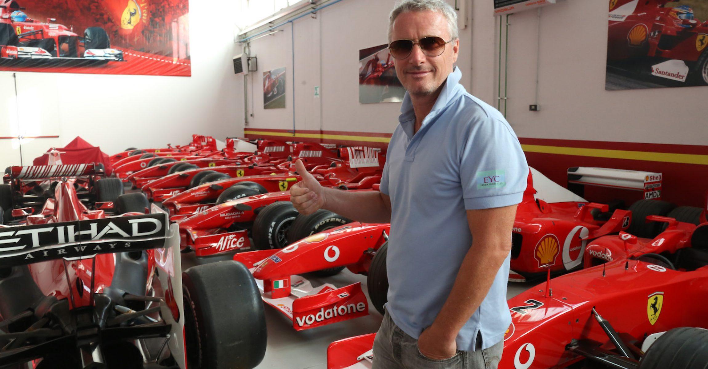Eddie Irvine, Ferrari,