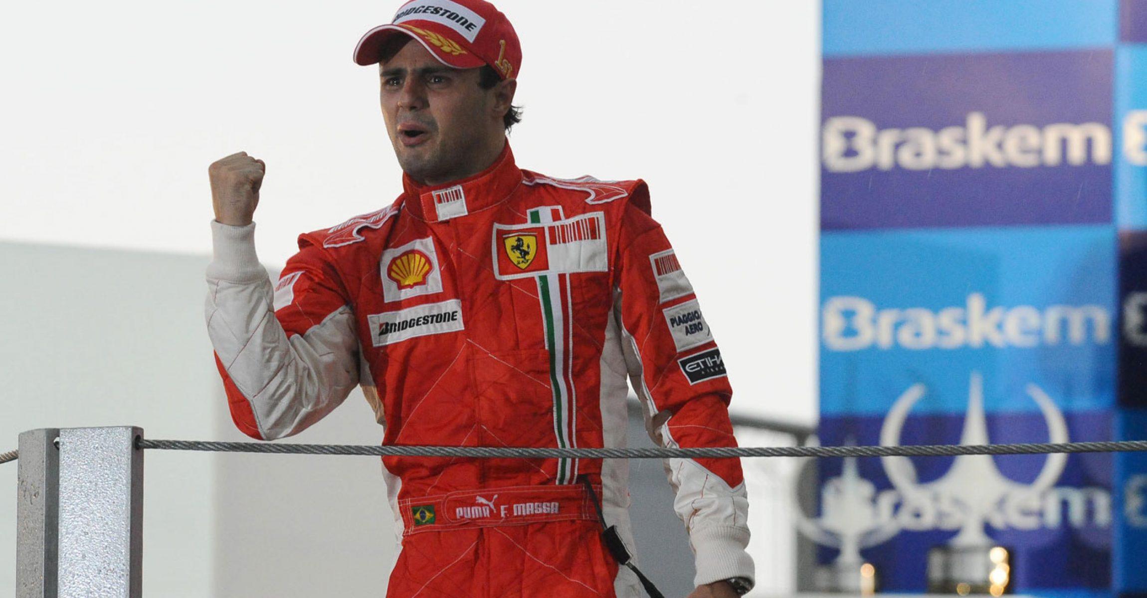 Felipe Massa 2008 Brazil GP Brasil GP Scuderia Ferrari