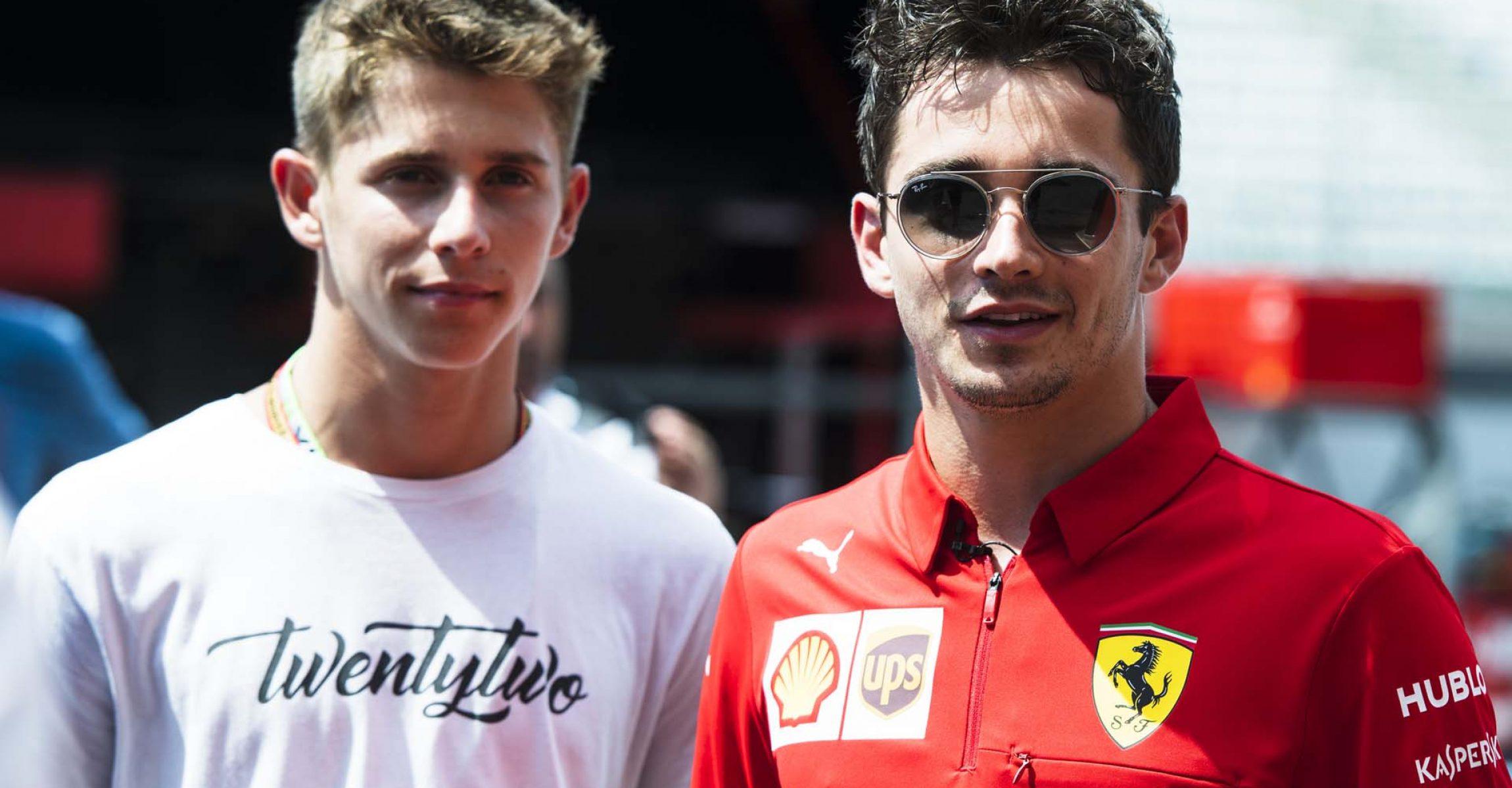 Arthur Leclerc, Charles Leclerc, Ferrari