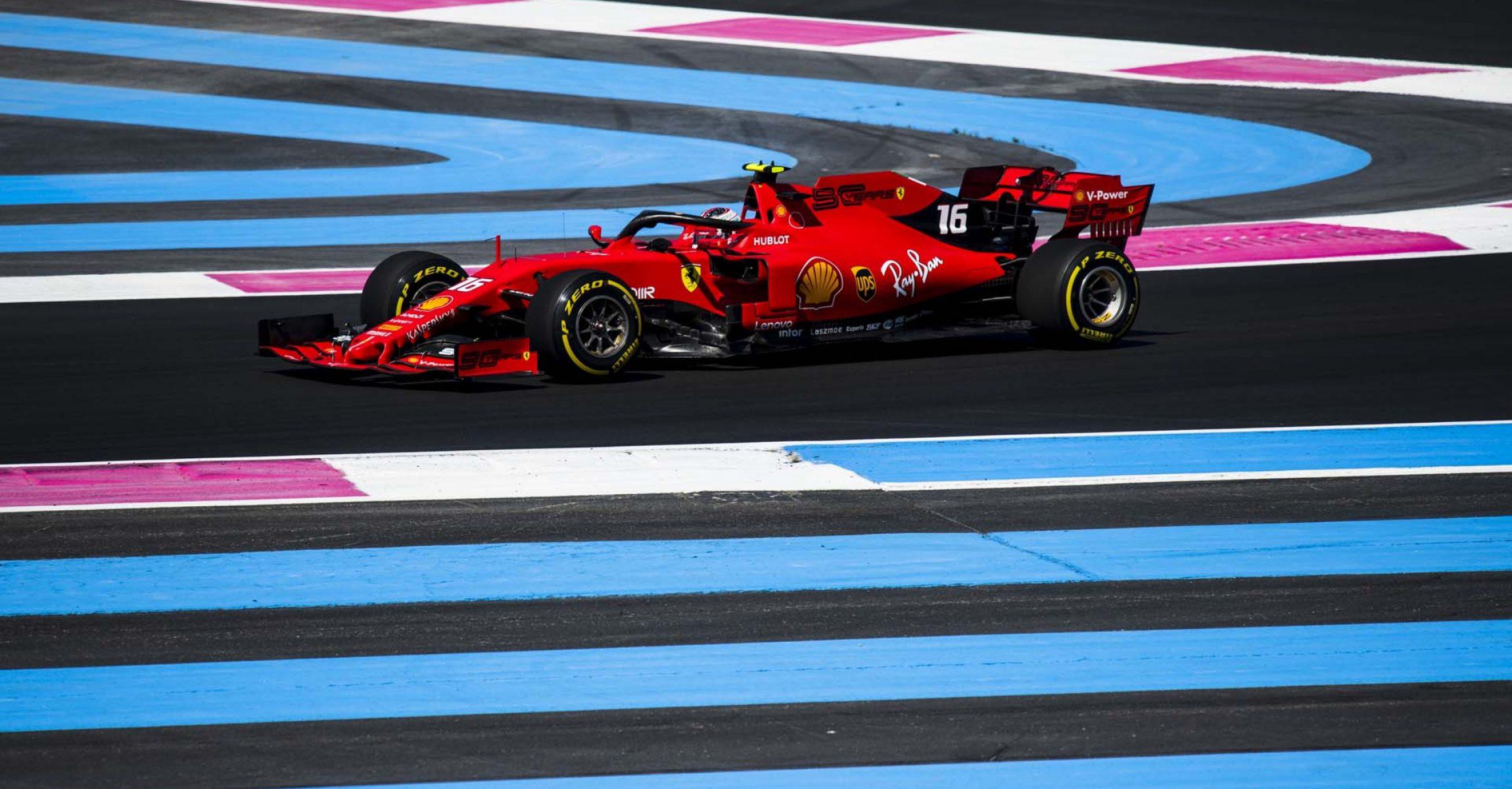 Charles Leclerc, Ferrari, French GP Le Castellet, Paul Ricard