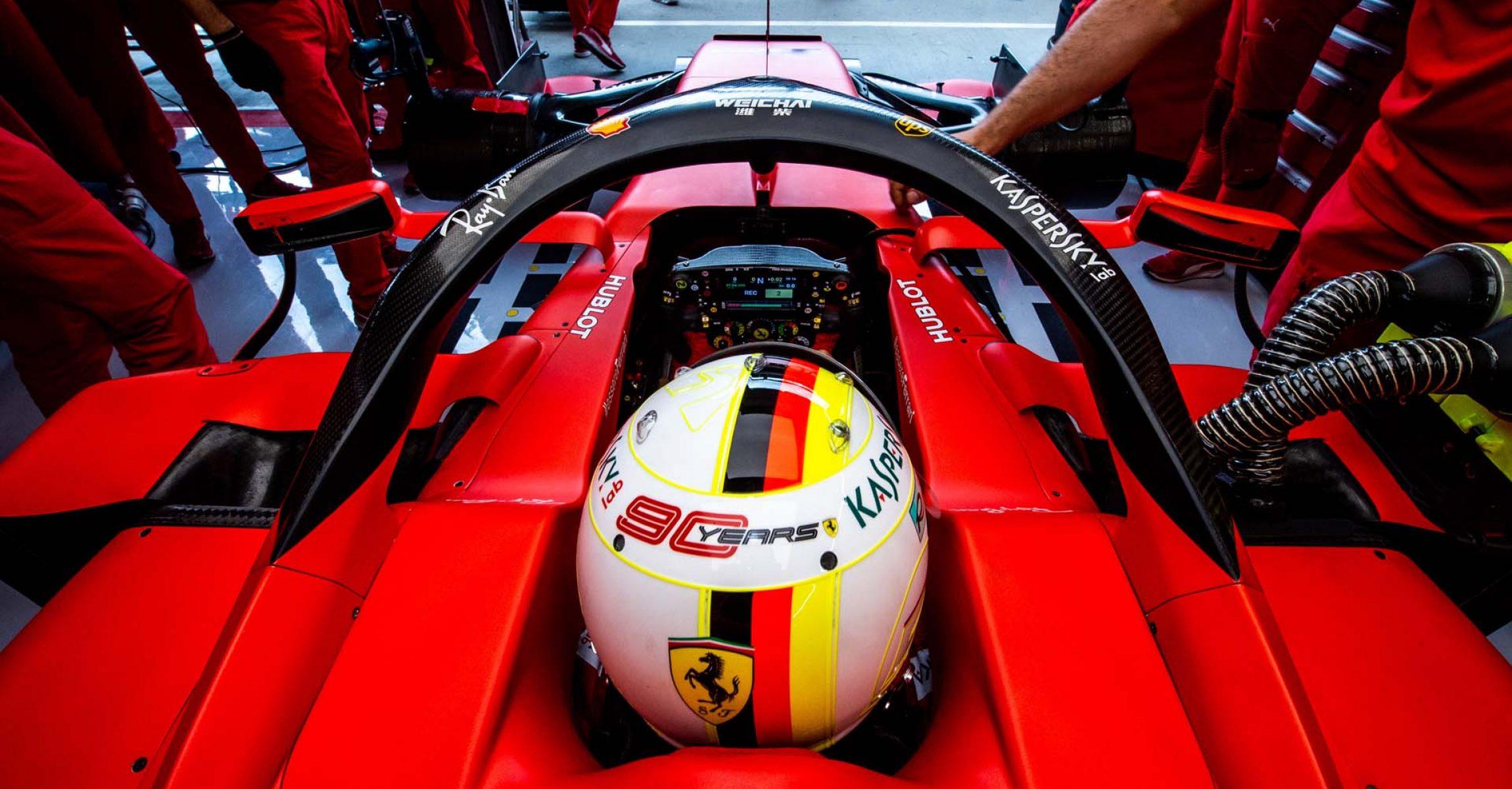 GP UNGHERIA  F1/2019 - VENERDÌ 02/08/2019   credit: @Scuderia Ferrari Press Office Ferrari Sebastian Vettel