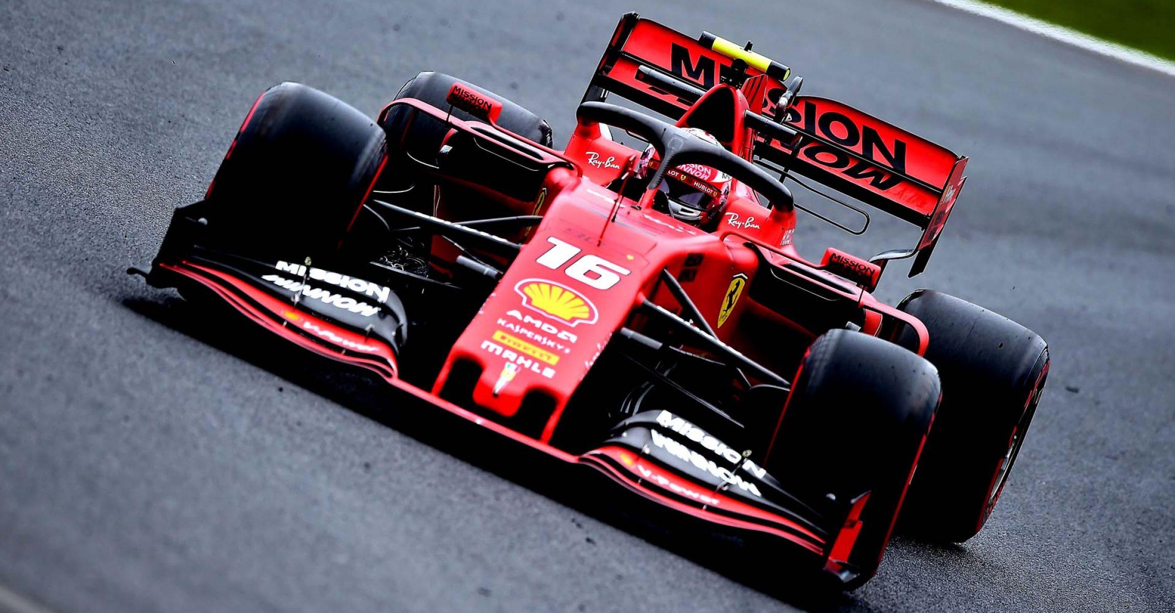 GP BRASILE F1/2019 - VENERDÌ 15/11/2019 credit: @Scuderia Ferrari Press Office Charles Leclerc Ferrari
