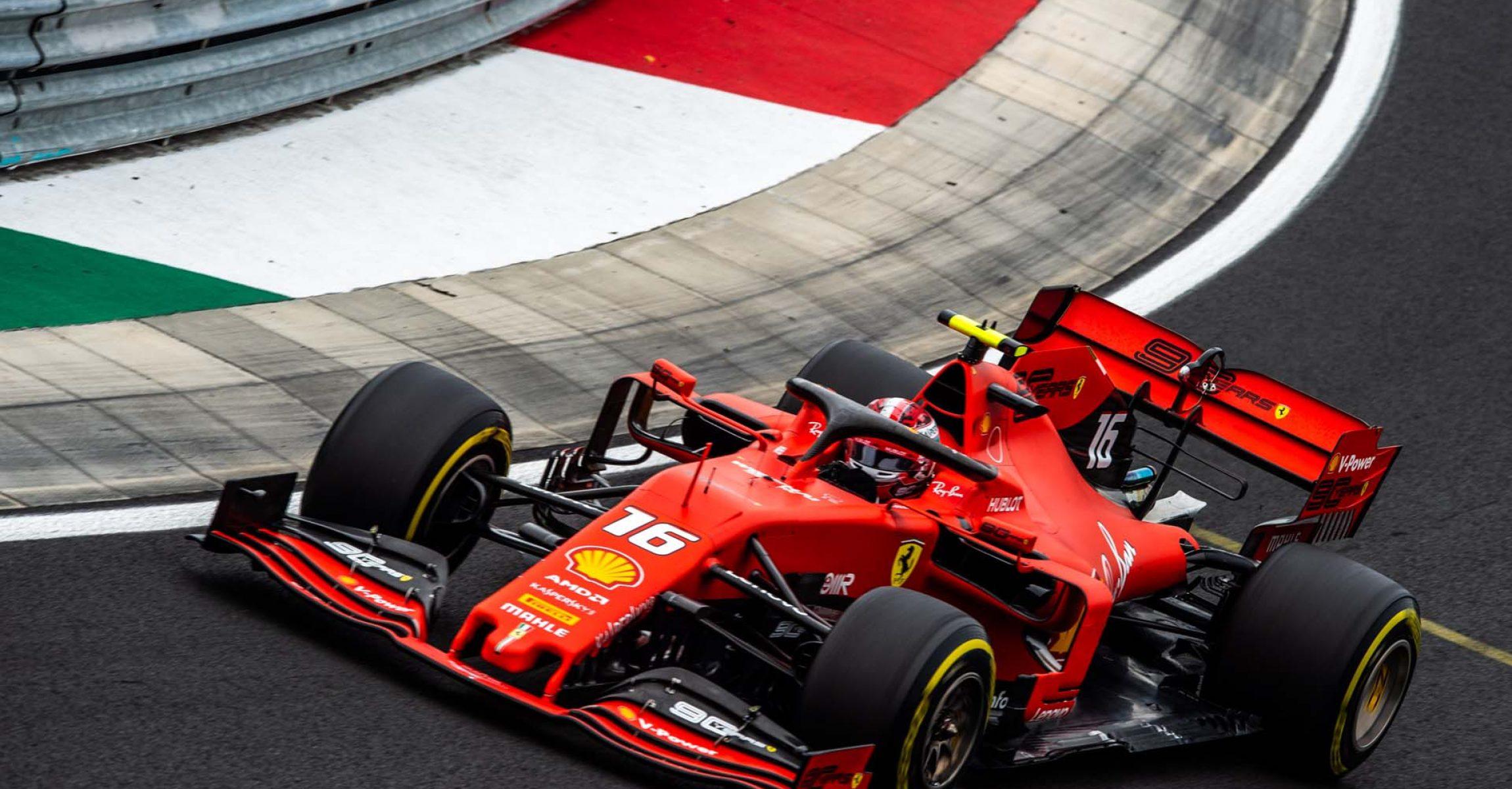 GP UNGHERIA  F1/2019 - VENERDÌ 02/08/2019   credit: @Scuderia Ferrari Press Office Charles Leclerc Ferrari