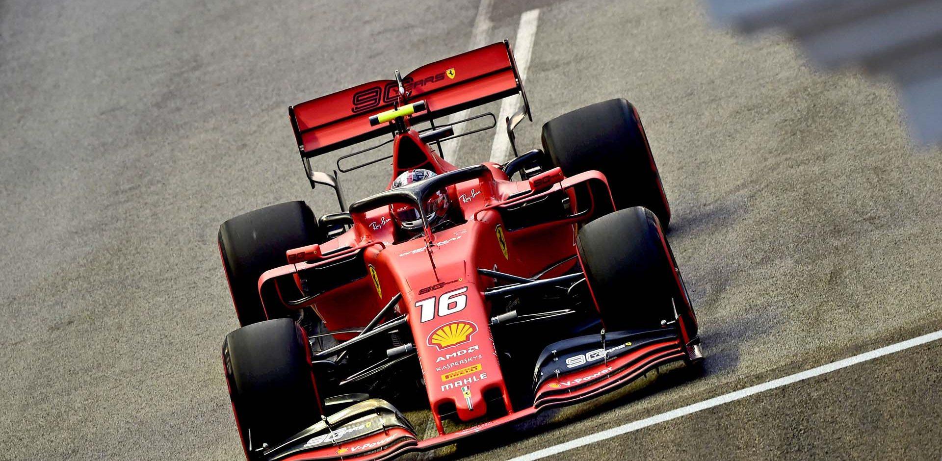 GP SINGAPORE F1/2019 -  SABATO 21/09/2019   credit: @Scuderia Ferrari Press Office Charles Leclerc