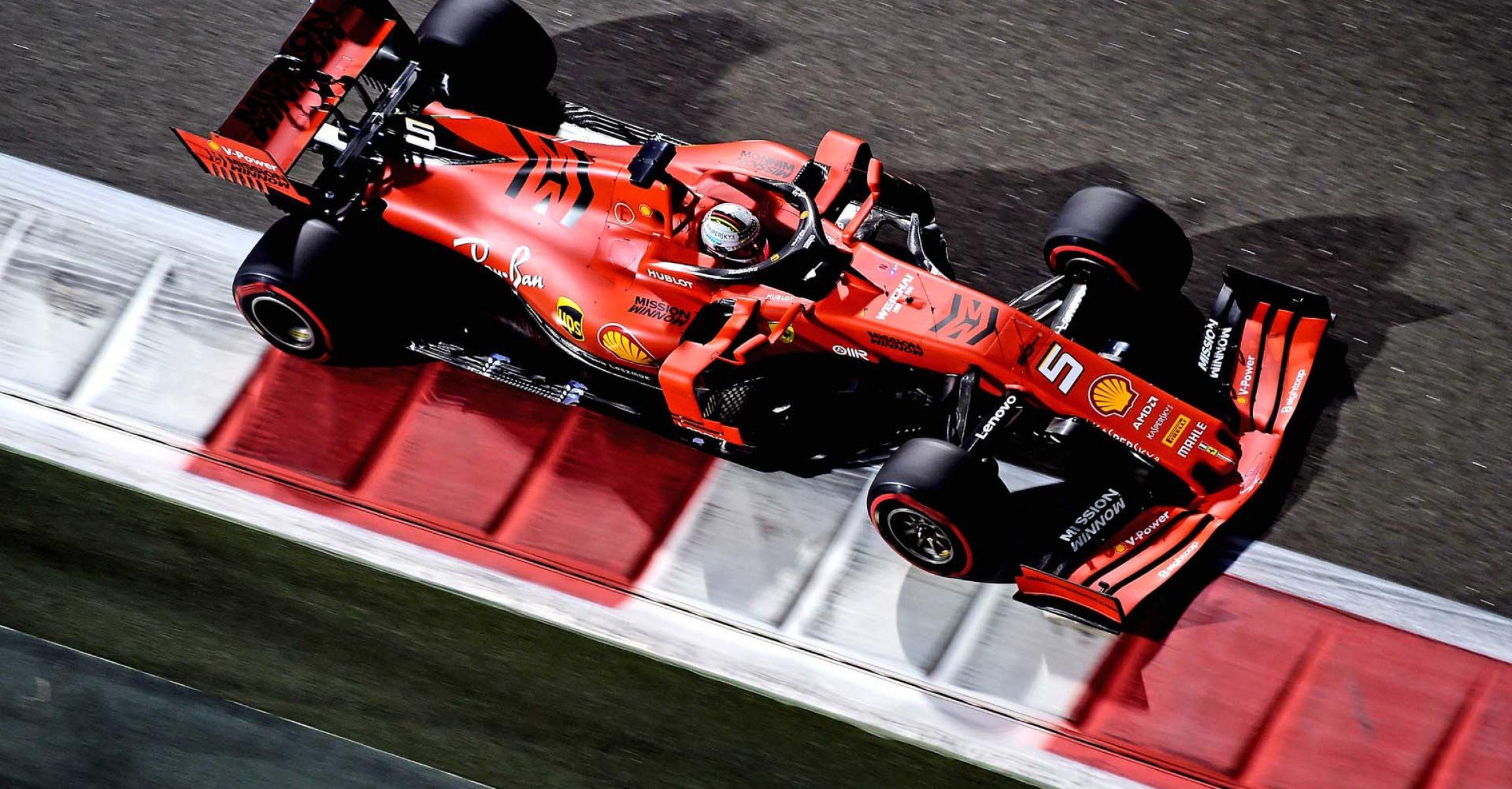 GP ABU DHABI F1/2019 - VENERDÌ 29/11/2019 credit: @Scuderia Ferrari Press Office Sebastian Vettel