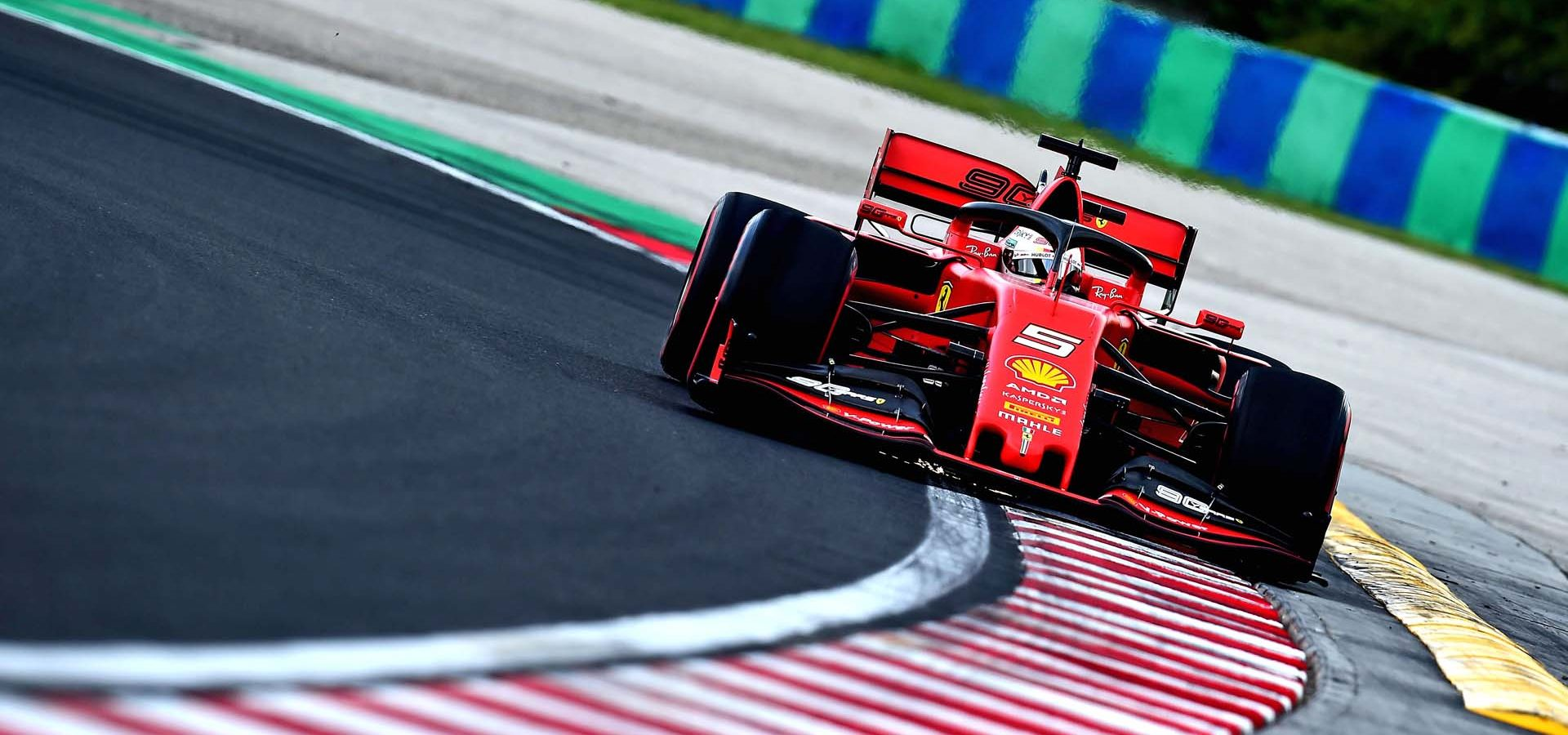 GP UNGHERIA  F1/2019 -  SABATO 03/08/2019 credit: @Scuderia Ferrari Press Office Sebastian Vettel Ferrari