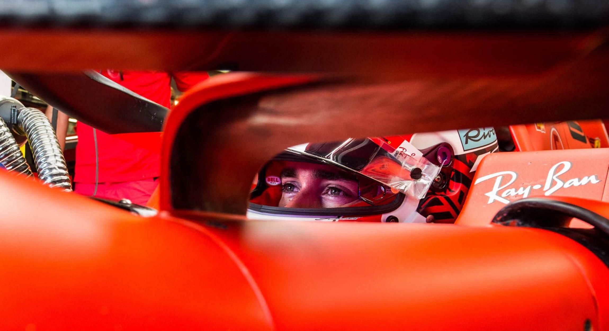 GP UNGHERIA  F1/2019 -  SABATO 03/08/2019 credit: @Scuderia Ferrari Press Office Charles Leclerc Ferrari