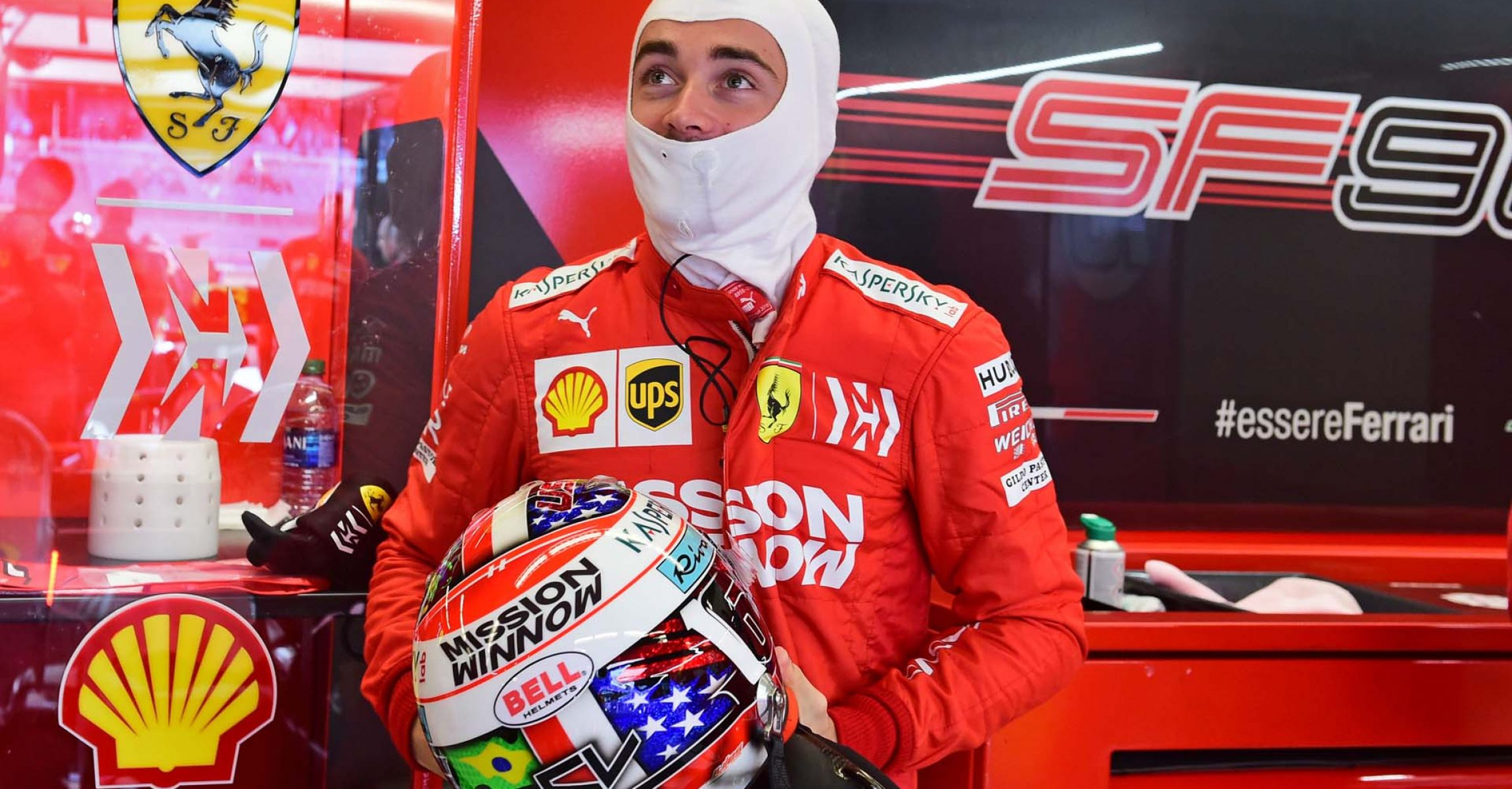 GP USA F1/2019 - SABATO 02/11/2019 credit: @Scuderia Ferrari Press Office Charles Leclerc Ferrari