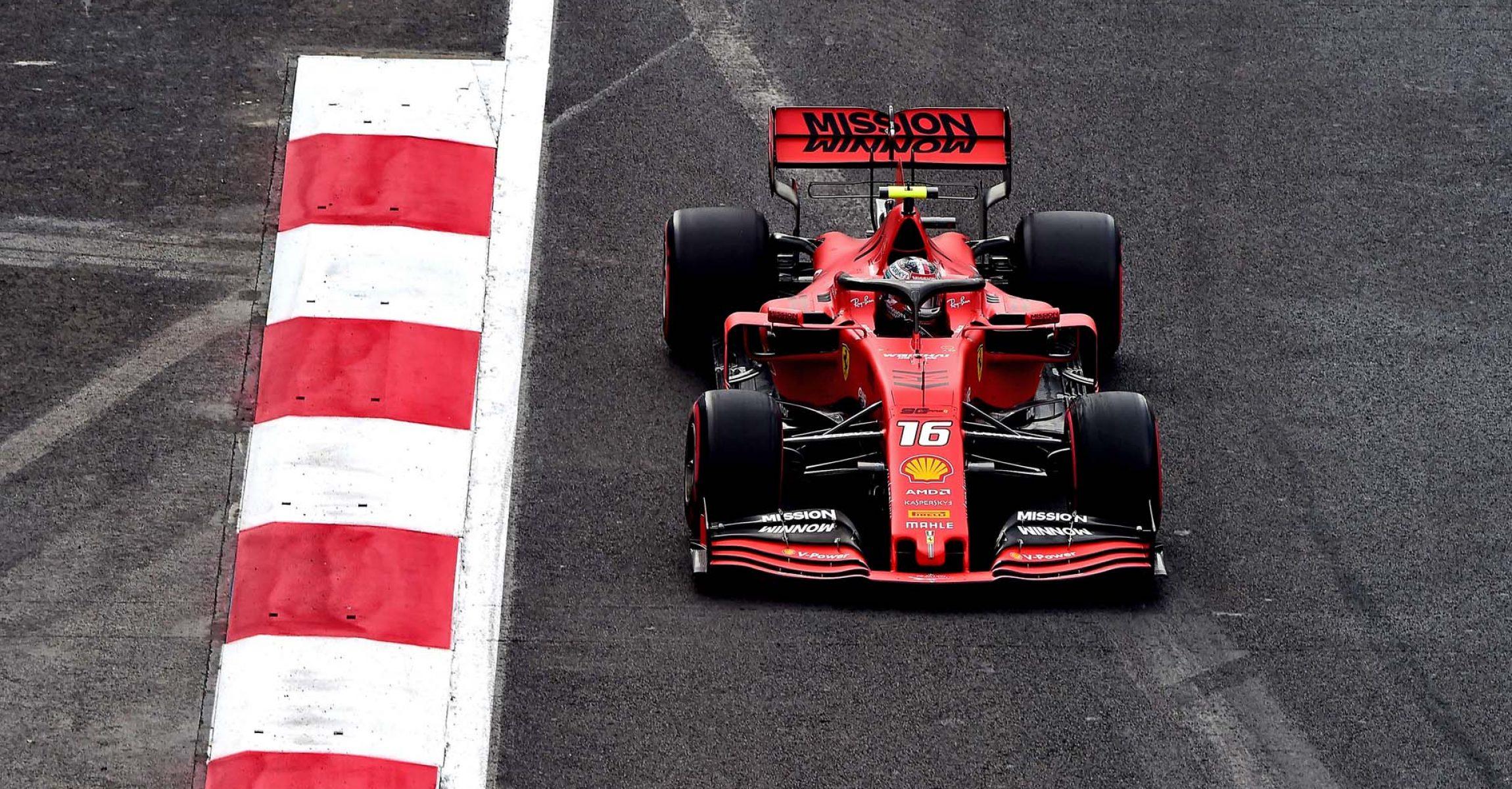 GP MESSICO  F1/2019 -  SABATO 26/10/2019   credit: @Scuderia Ferrari Press Office Charles Leclerc