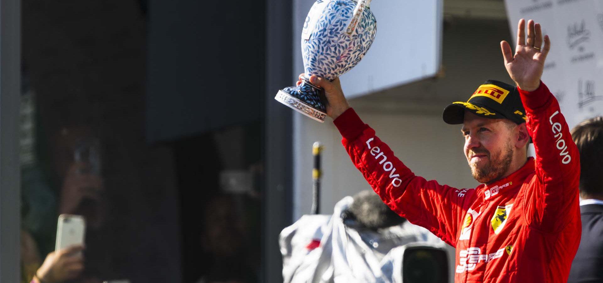 Sebastian Vettel, Ferrari, HungarianGP