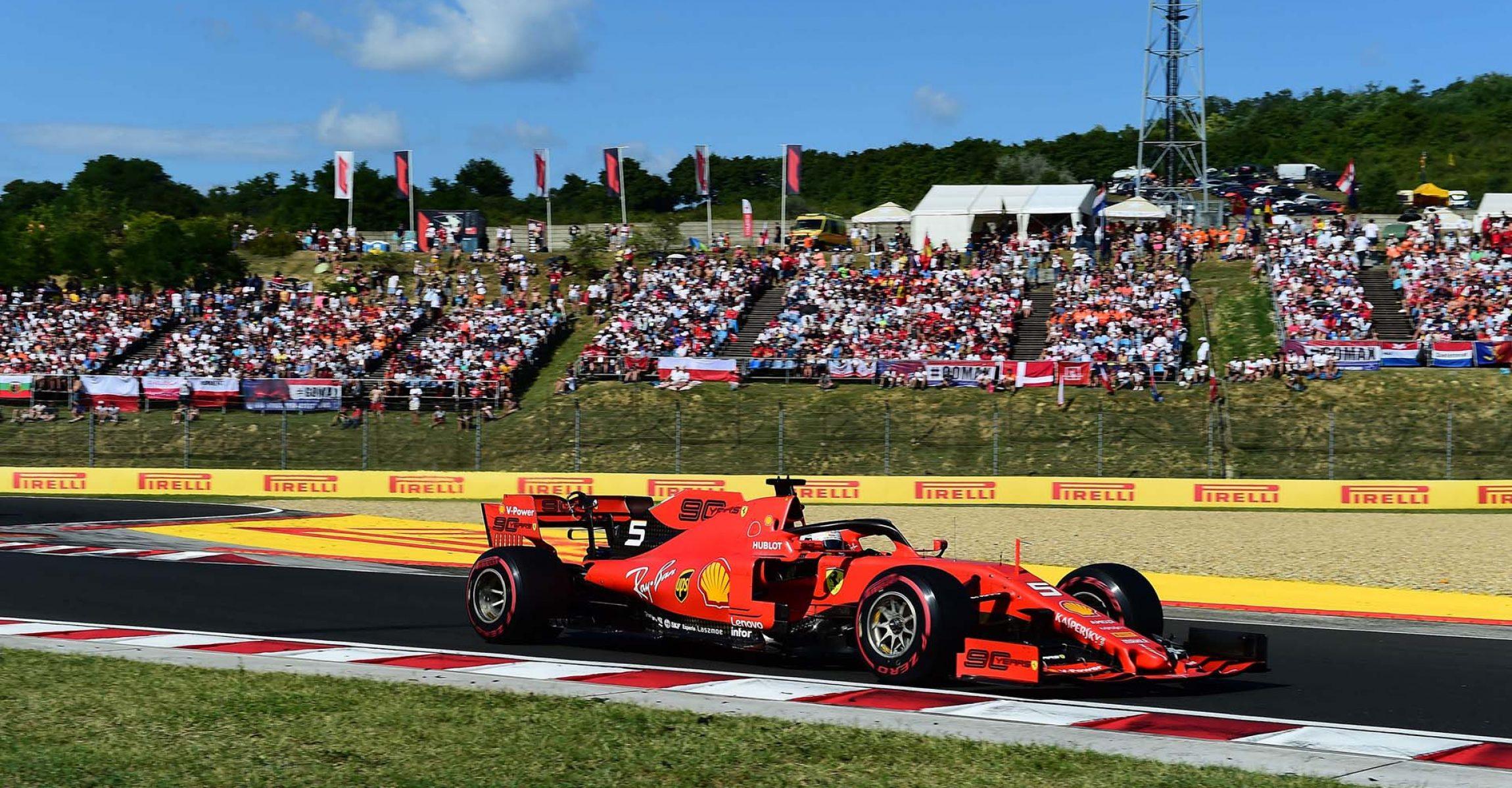 GP UNGHERIA F1/2019 - DOMENICA 04/08/2019 credit: @Scuderia Ferrari Press Office Sebastian Vettel Ferrari