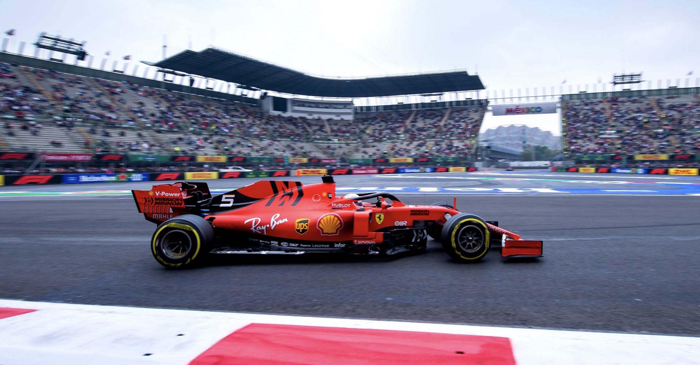 GP MESSICO F1/2019 - VENERDÌ 25/10/2019 credit: @Scuderia Ferrari Press Office Sebastian Vettel Ferrari