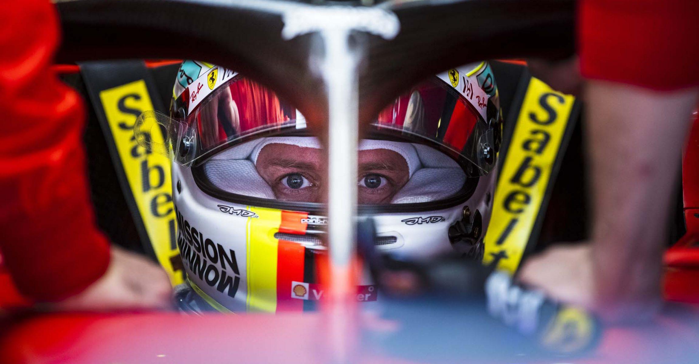 Sebastian Vettel Ferrari