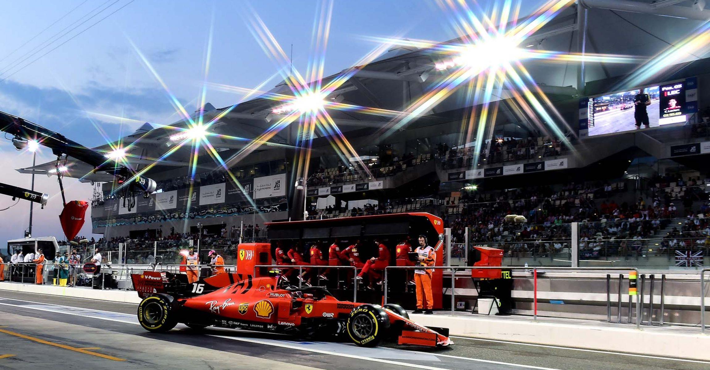 GP ABU DHABI  F1/2019 - SABATO 30/11/2019    credit: @Scuderia Ferrari Press Office Charles Leclerc