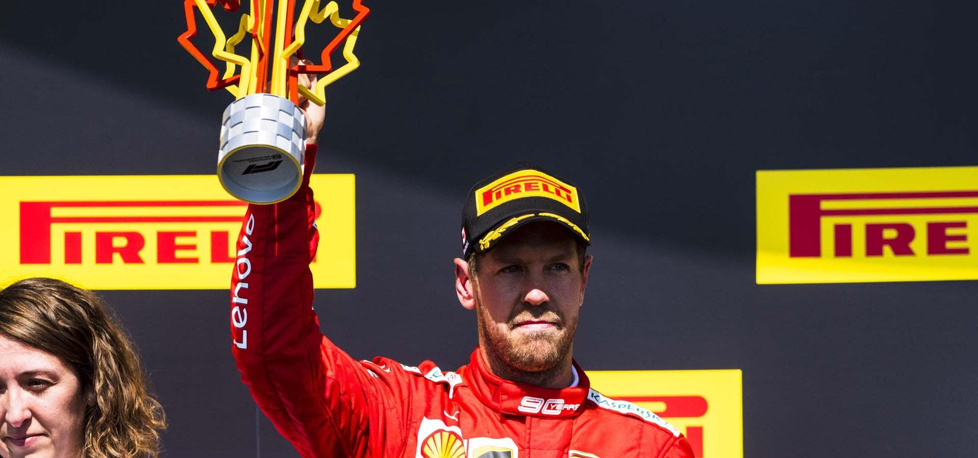 Sebastian Vettel, Ferrari, Montreal