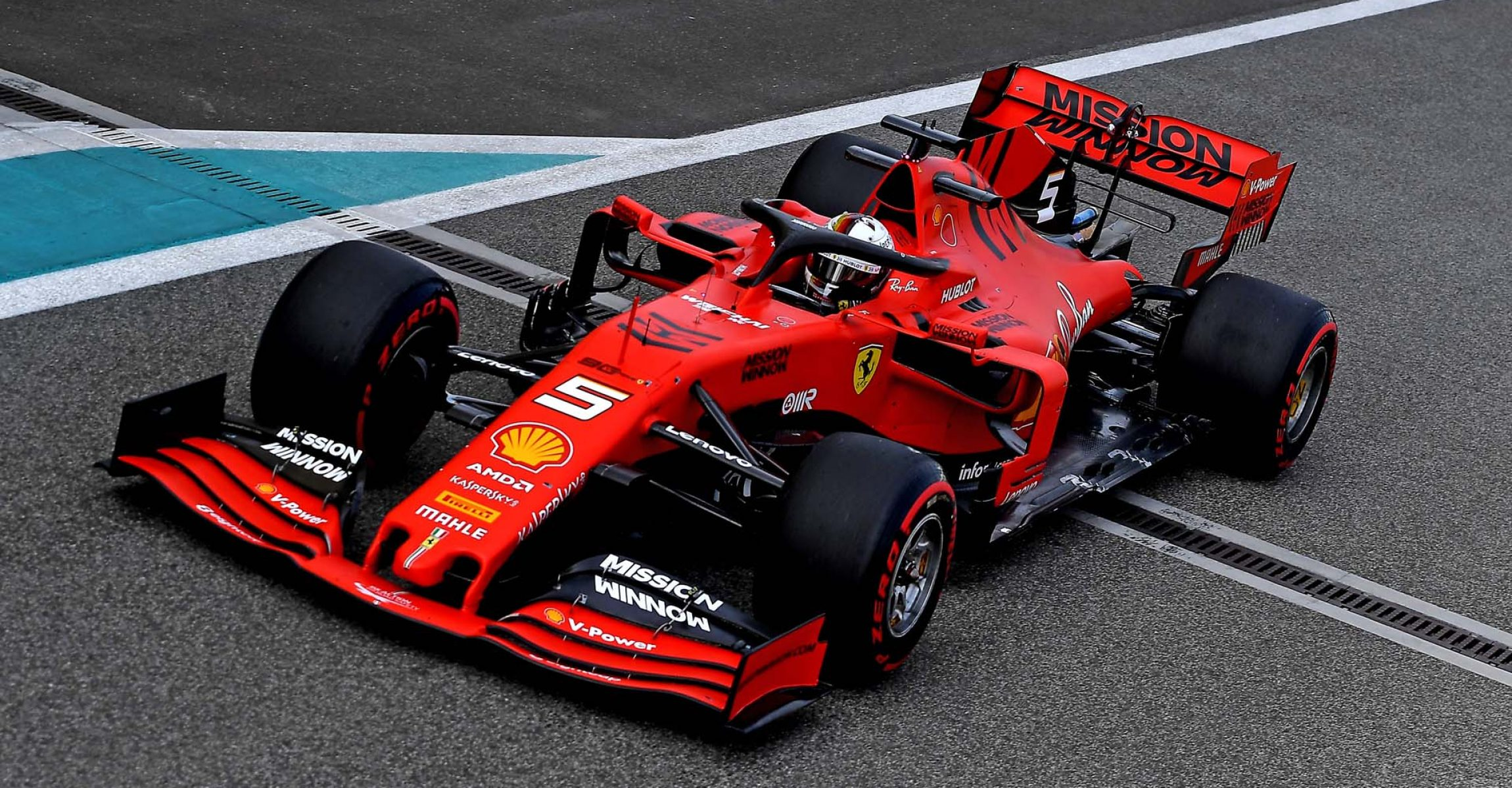 TEST T5 ABU DHABI 2019 - MARTEDÌ 03/12/2019   credit: @Scuderia Ferrari Press Office Sebastian Vettel