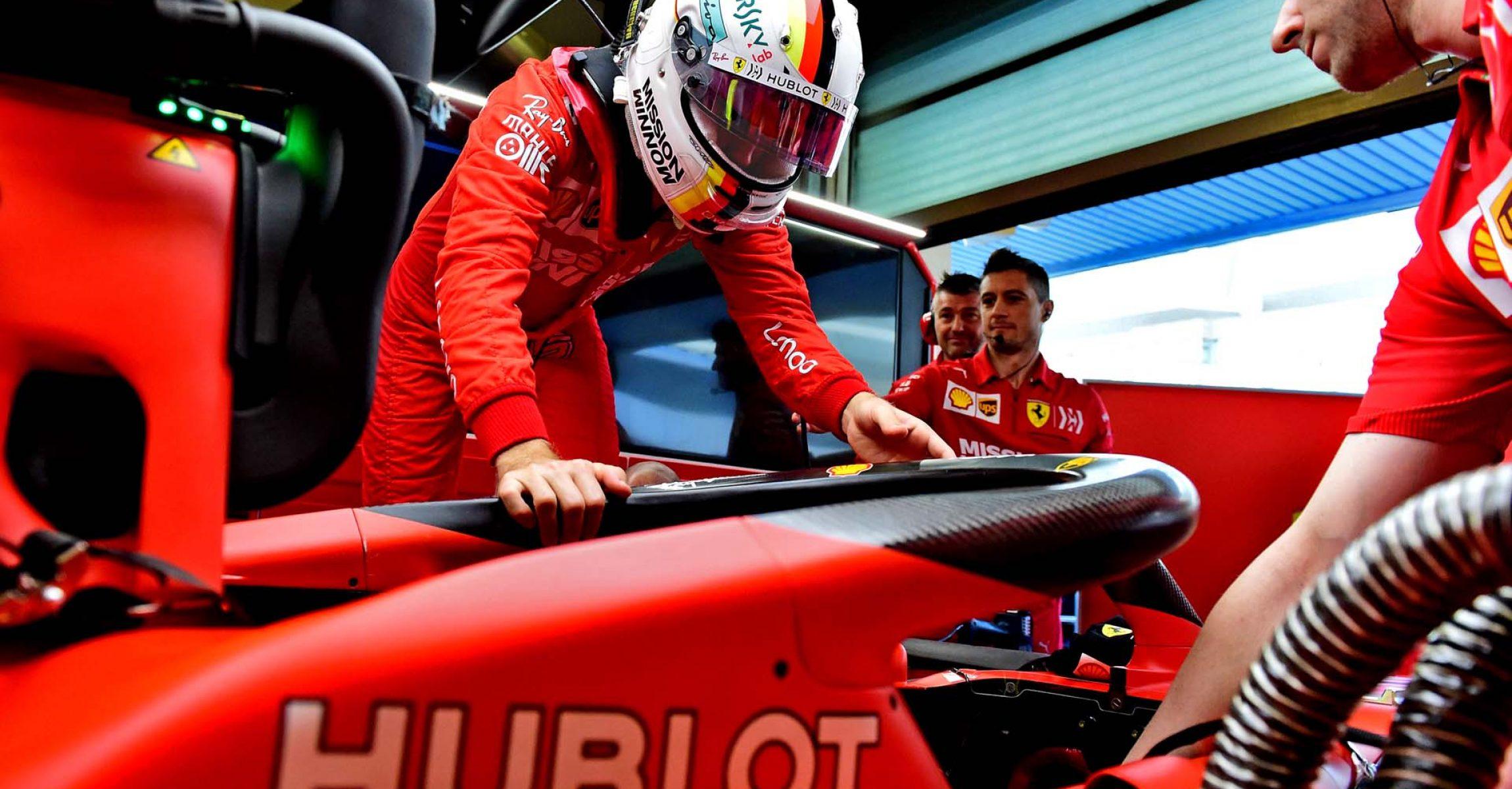 TEST T5 ABU DHABI 2019 - MARTEDÌ 03/12/2019 credit: @Scuderia Ferrari Press Office Sebastian Vettel