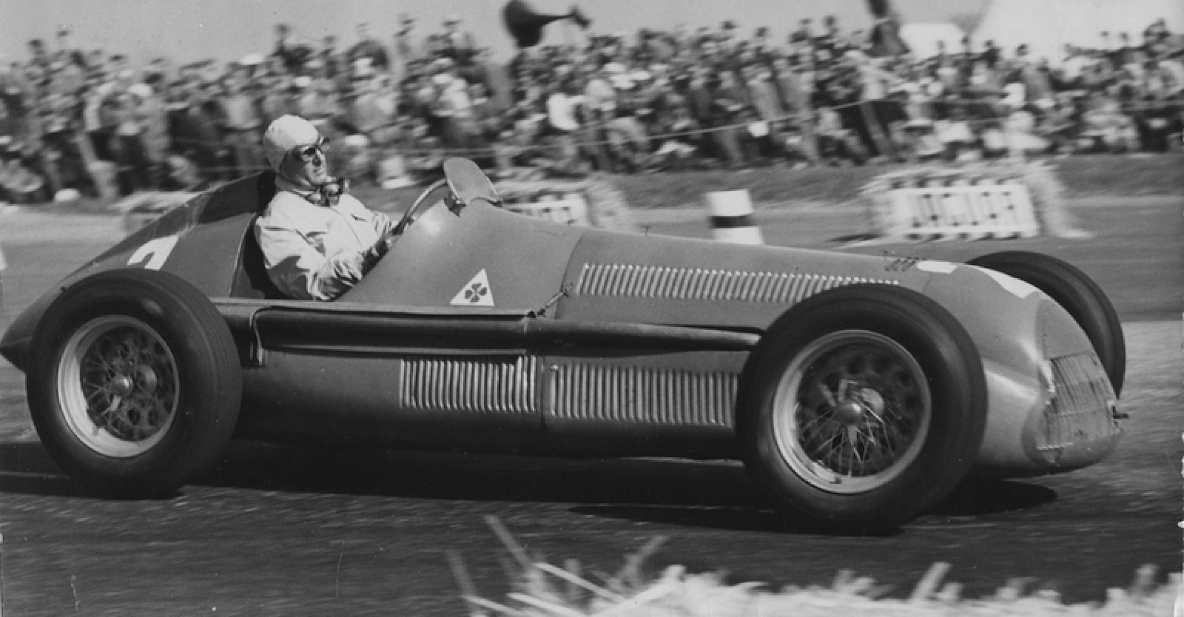 Giuseppe Farina, Alfa Romeo, 1950 British Grand Prix, Silverstone